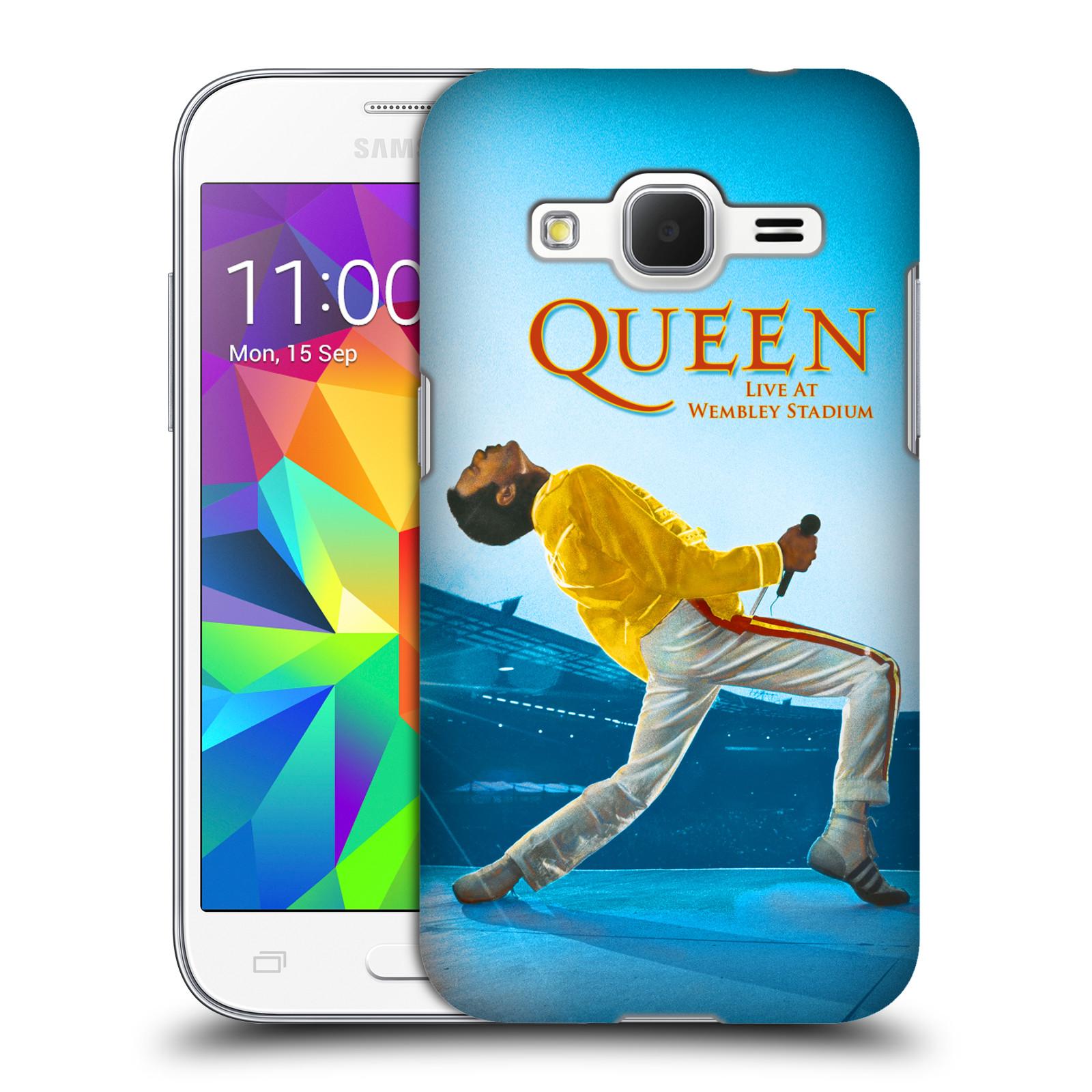 Plastové pouzdro na mobil Samsung Galaxy Core Prime VE HEAD CASE Queen - Freddie Mercury