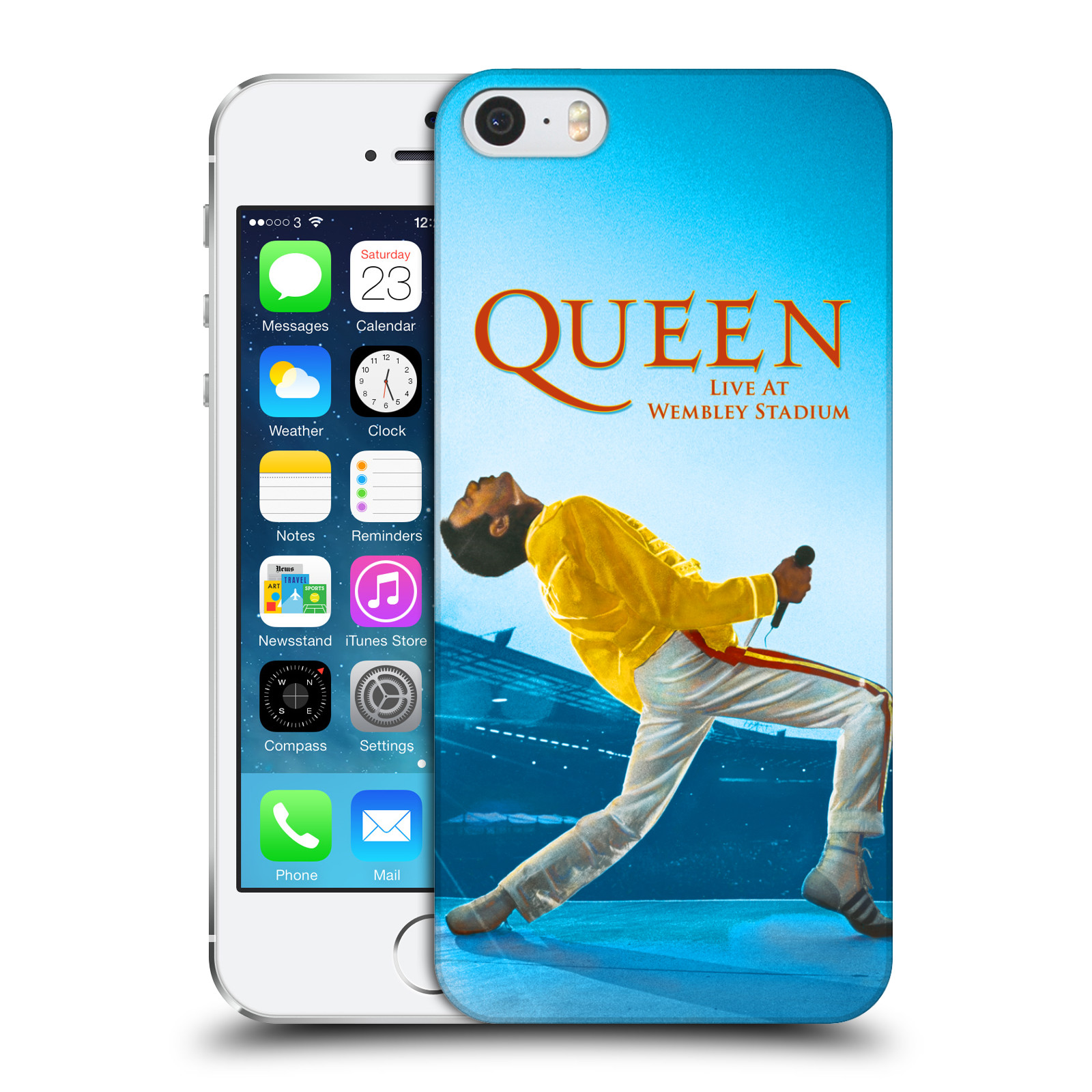 Plastové pouzdro na mobil Apple iPhone SE, 5 a 5S HEAD CASE Queen - Freddie Mercury