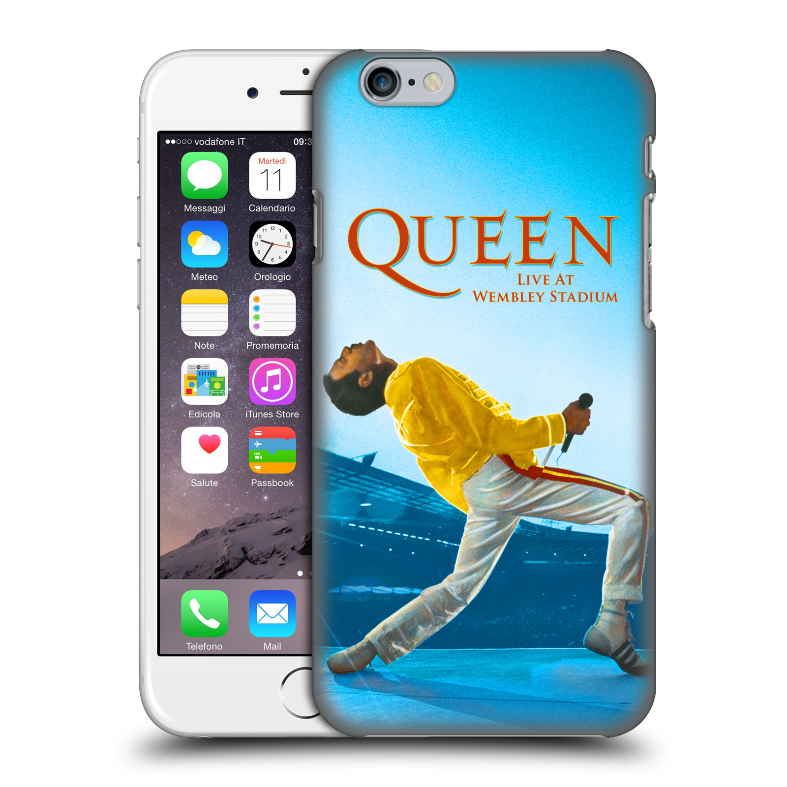 Plastové pouzdro na mobil Apple iPhone 6 HEAD CASE Queen - Freddie Mercury