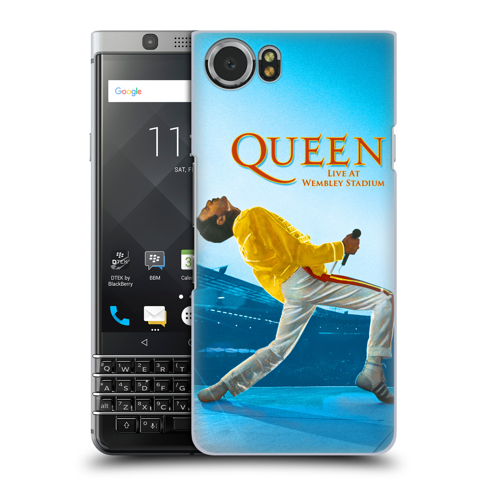 Plastové pouzdro na mobil BlackBerry KEYone - Head Case - Queen - Freddie Mercury
