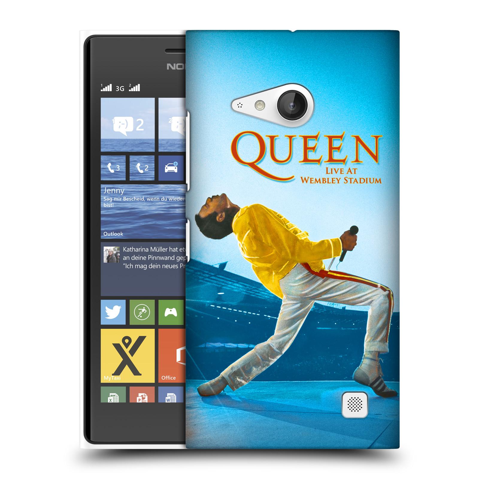 Plastové pouzdro na mobil Nokia Lumia 735 HEAD CASE Queen - Freddie Mercury