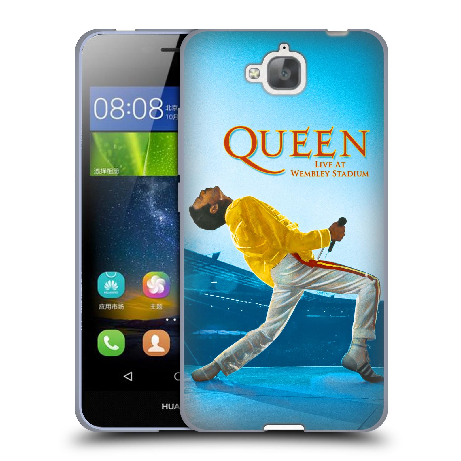Silikonové pouzdro na mobil Huawei Y6 Pro Dual Sim HEAD CASE Queen - Freddie Mercury