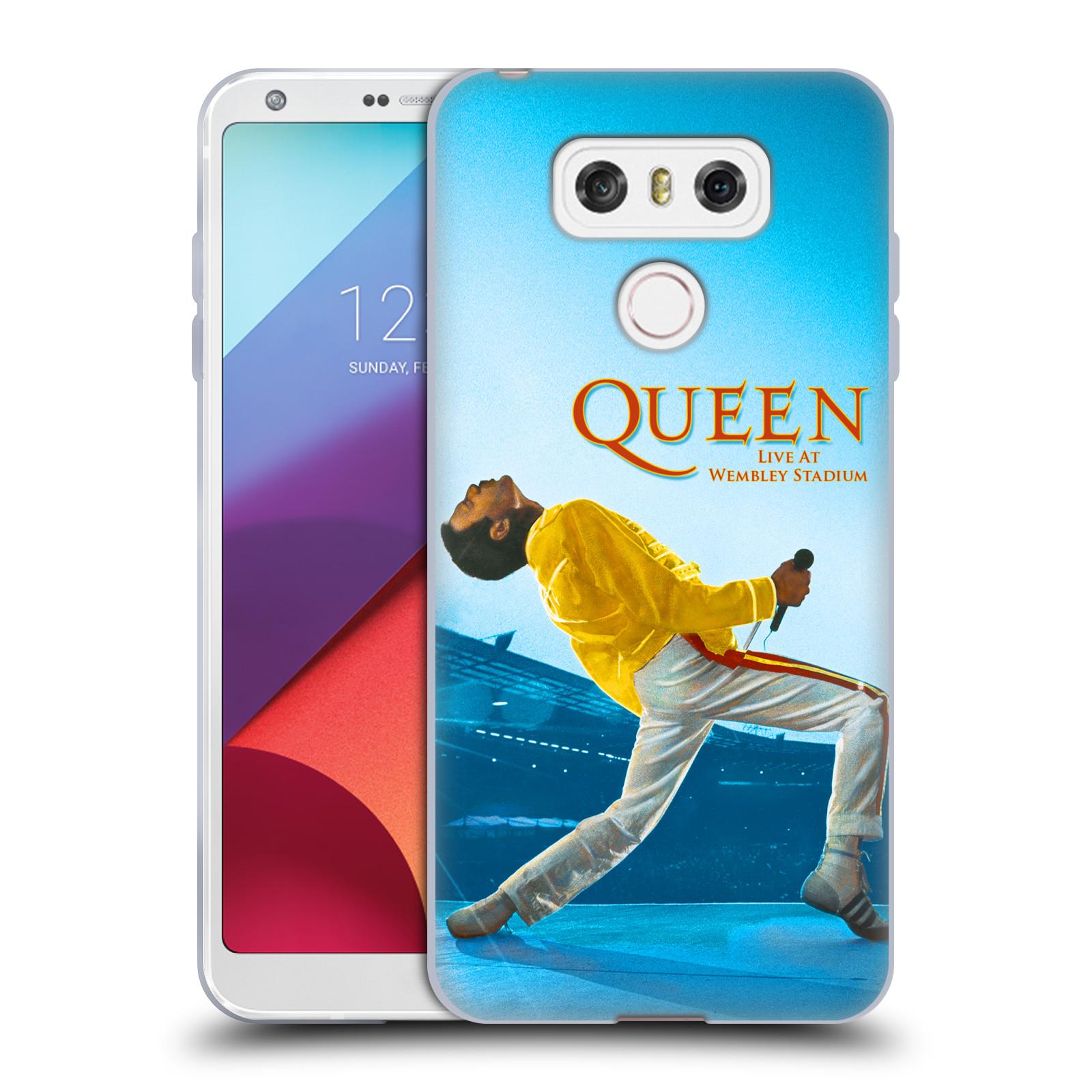 Silikonové pouzdro na mobil LG G6 - Head Case Queen - Freddie Mercury