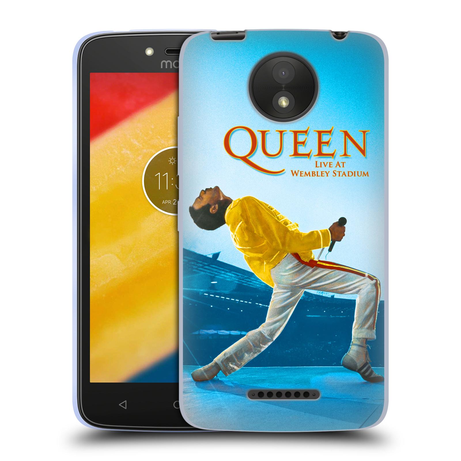 Silikonové pouzdro na mobil Lenovo Moto C Plus - Head Case - Queen - Freddie Mercury