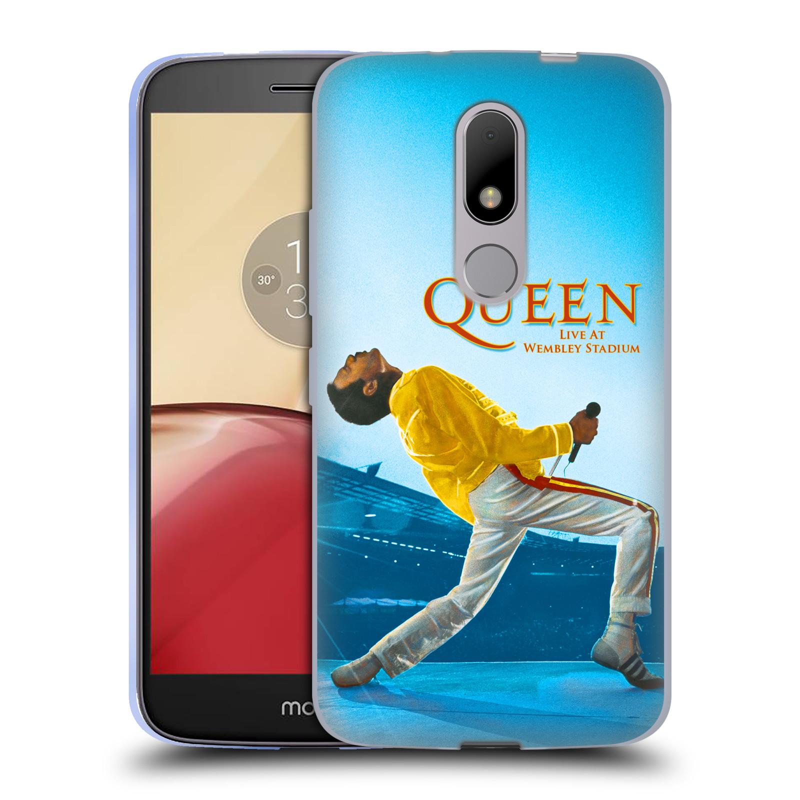 Silikonové pouzdro na mobil Lenovo Moto M - Head Case Queen - Freddie Mercury