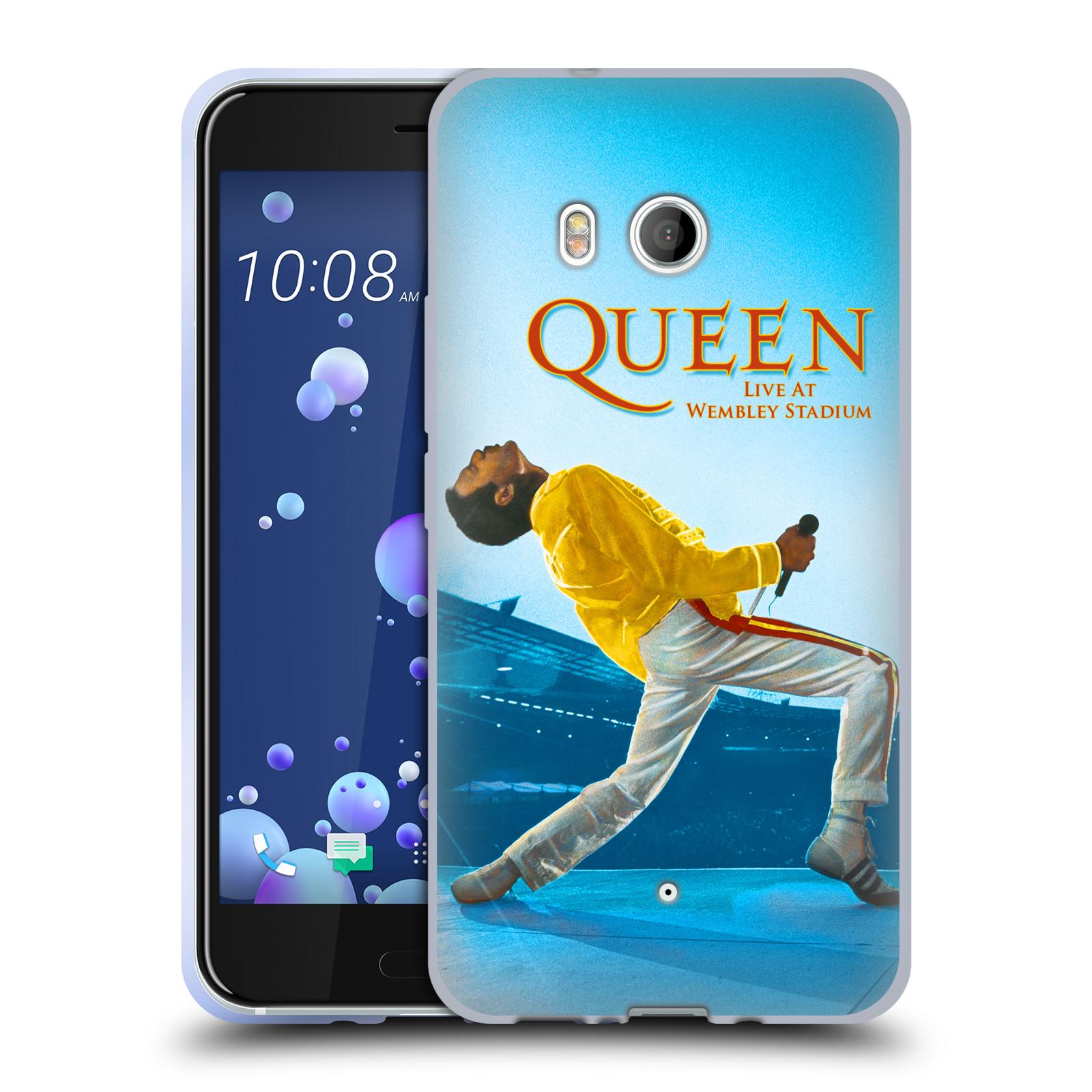 Silikonové pouzdro na mobil HTC U11 - Head Case - Queen - Freddie Mercury