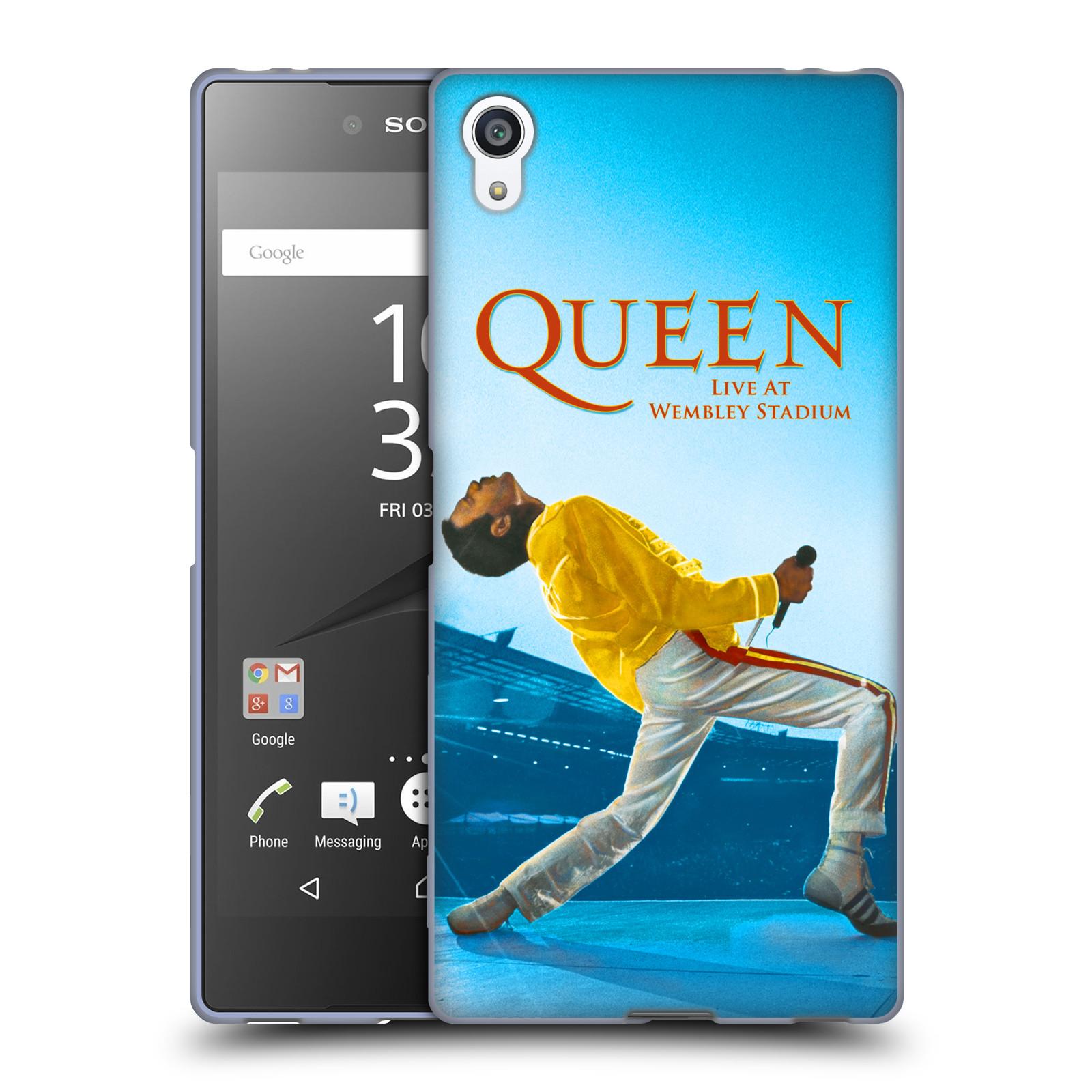 Silikonové pouzdro na mobil Sony Xperia Z5 Premium HEAD CASE Queen - Freddie Mercury