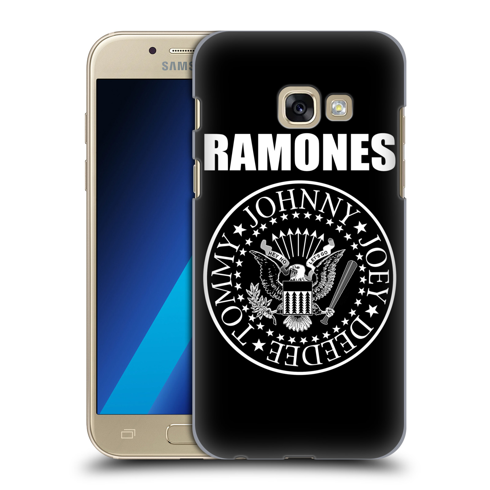 Plastové pouzdro na mobil Samsung Galaxy A3 (2017) HEAD CASE The Ramones - PRESIDENTIAL SEAL