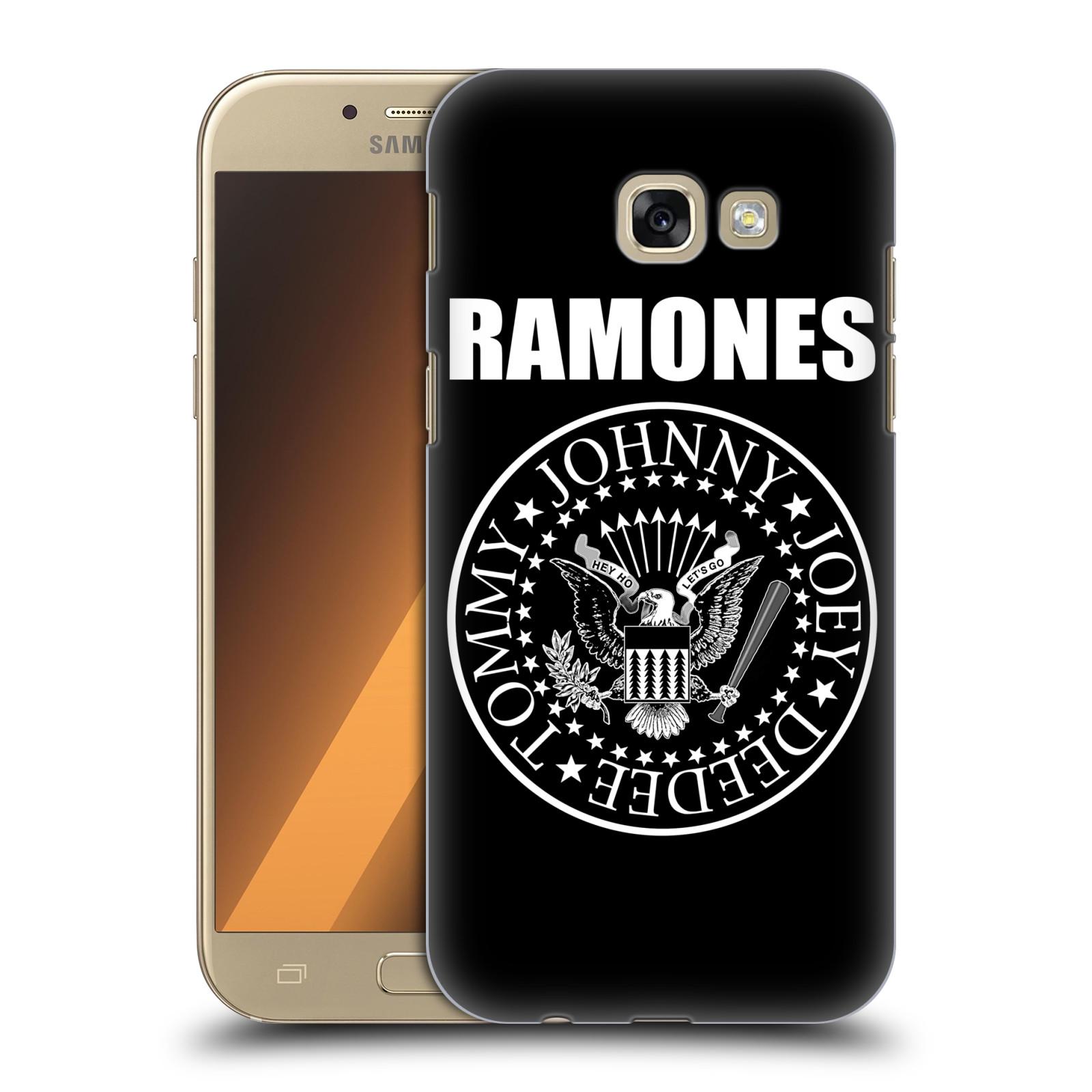 Plastové pouzdro na mobil Samsung Galaxy A5 (2017) HEAD CASE The Ramones - PRESIDENTIAL SEAL