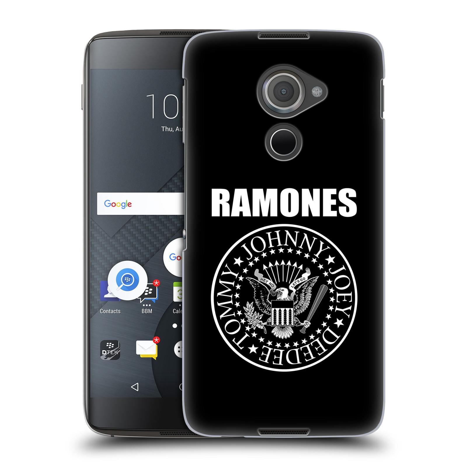 Plastové pouzdro na mobil Blackberry DTEK60 (Argon) - Head Case The Ramones - PRESIDENTIAL SEAL