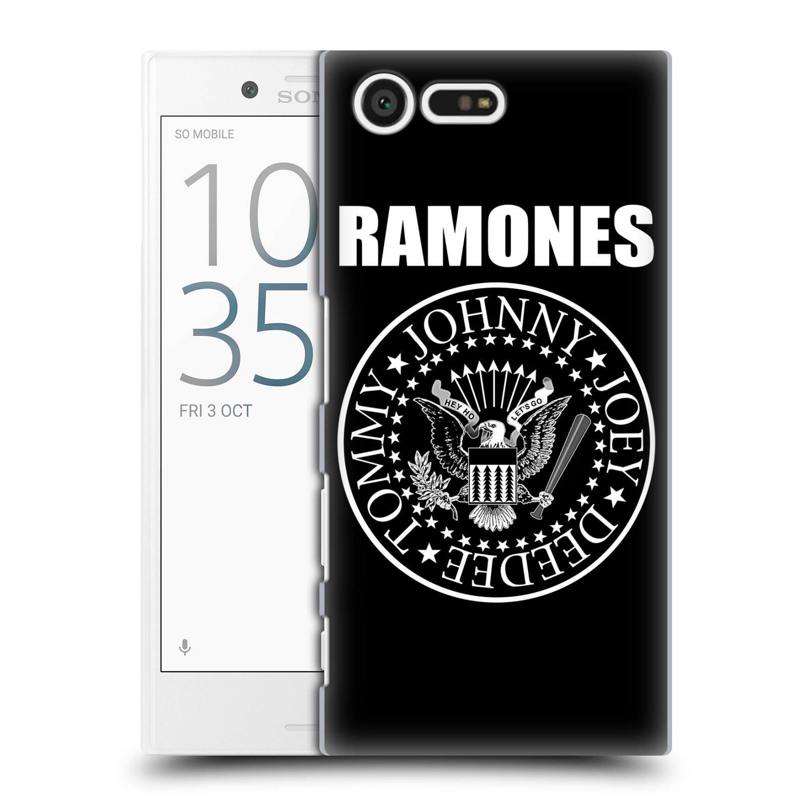 Plastové pouzdro na mobil Sony Xperia X Compact HEAD CASE The Ramones - PRESIDENTIAL SEAL
