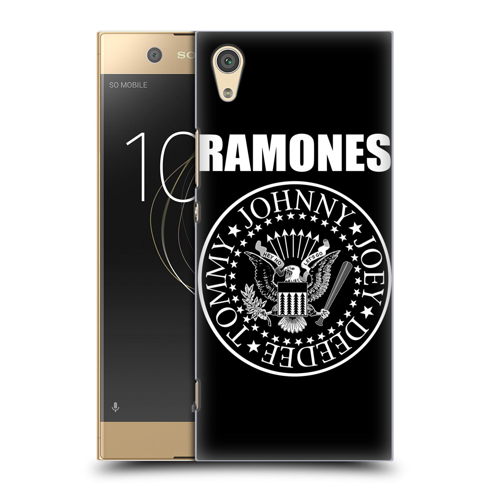 Plastové pouzdro na mobil Sony Xperia XA1 - Head Case - The Ramones - PRESIDENTIAL SEAL
