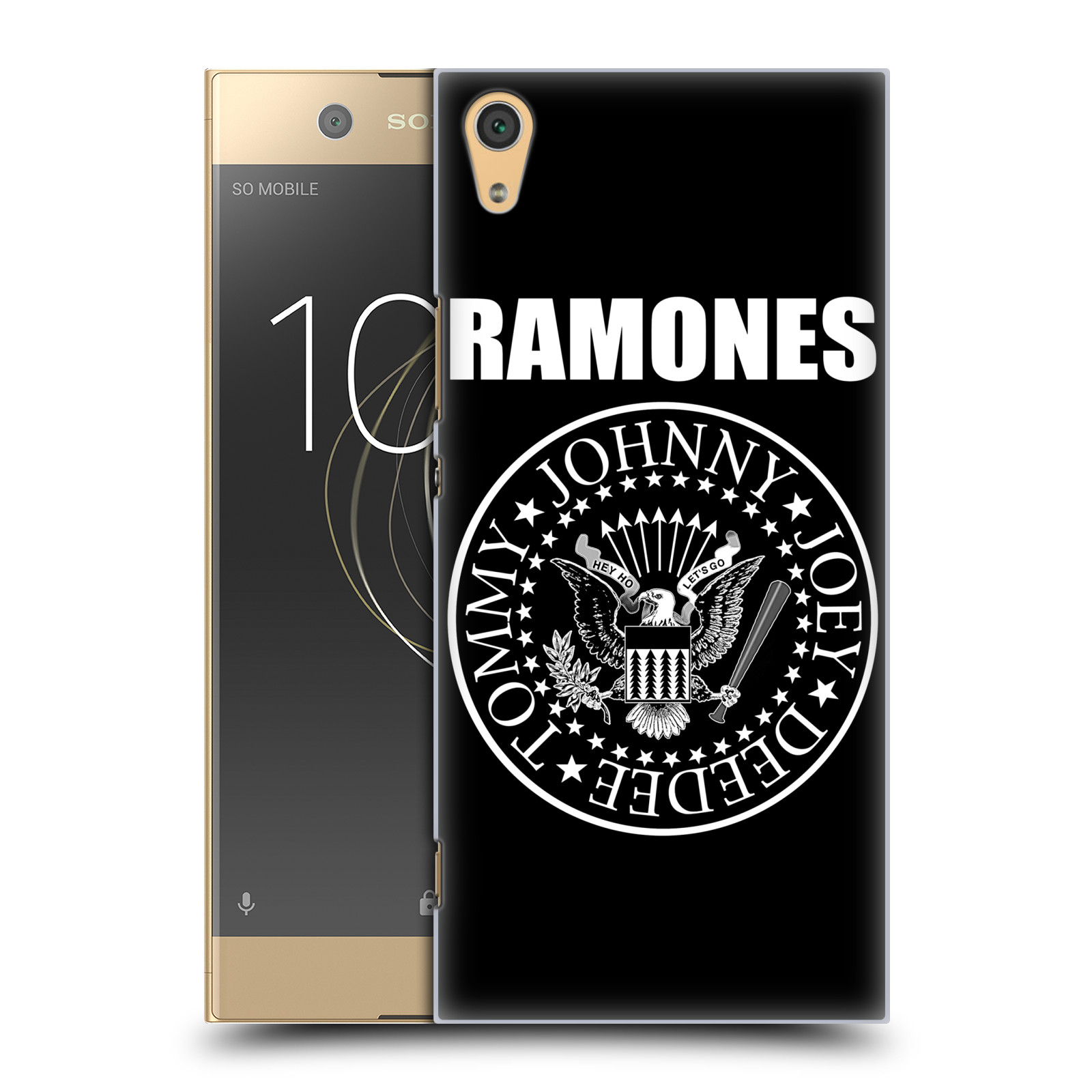 Plastové pouzdro na mobil Sony Xperia XA1 Ultra - Head Case - The Ramones - PRESIDENTIAL SEAL