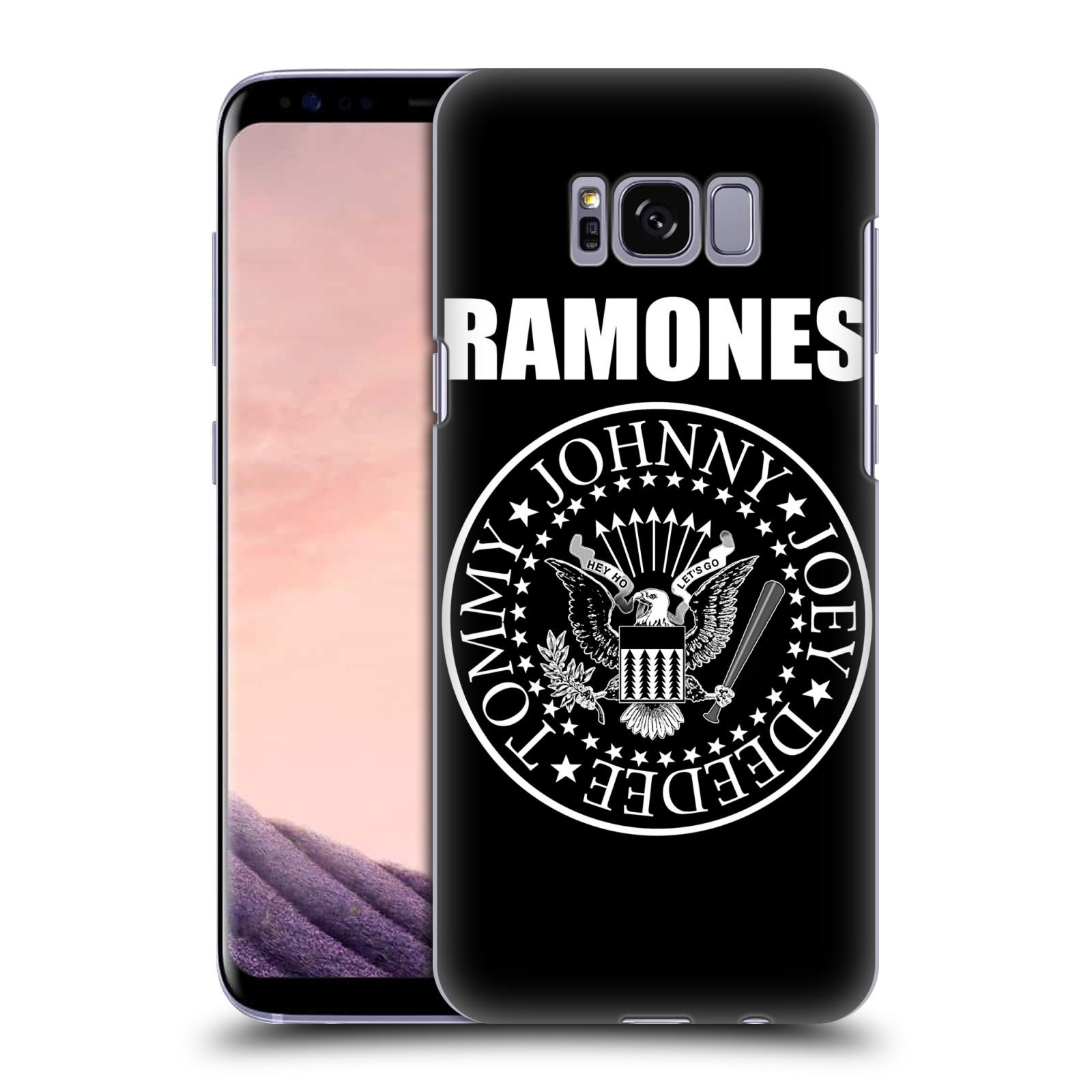 Plastové pouzdro na mobil Samsung Galaxy S8 Head Case The Ramones - PRESIDENTIAL SEAL