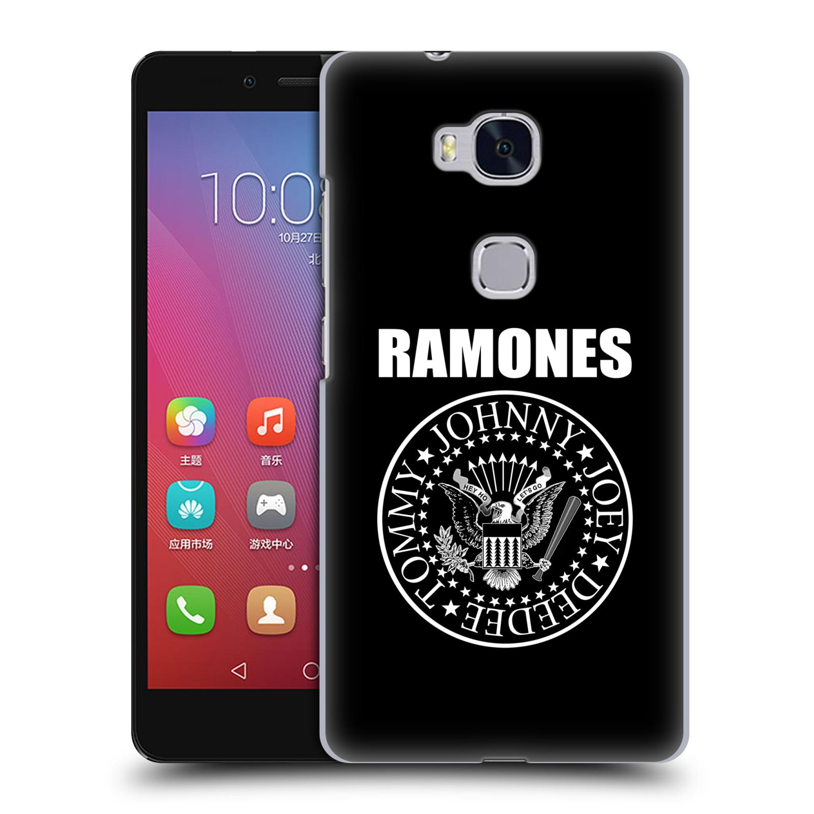 Plastové pouzdro na mobil Honor 5X HEAD CASE The Ramones - PRESIDENTIAL SEAL