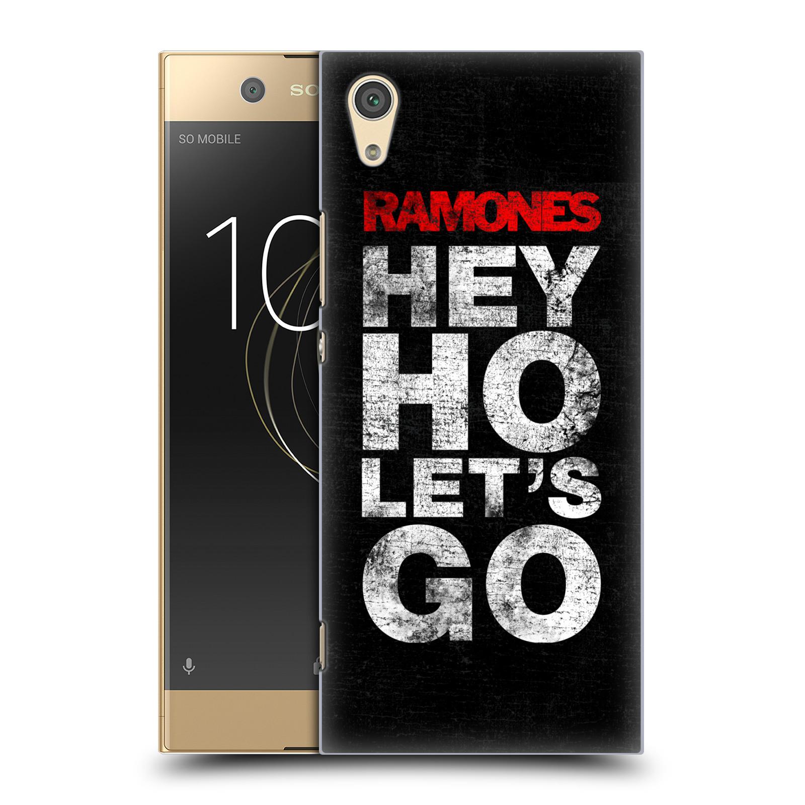 Plastové pouzdro na mobil Sony Xperia XA1 - Head Case - The Ramones - HEY HO LET´S GO (Plastový kryt či obal na mobilní telefon Sony Xperia XA1 G3121 s motivem The Ramones - HEY HO LET´S GO)