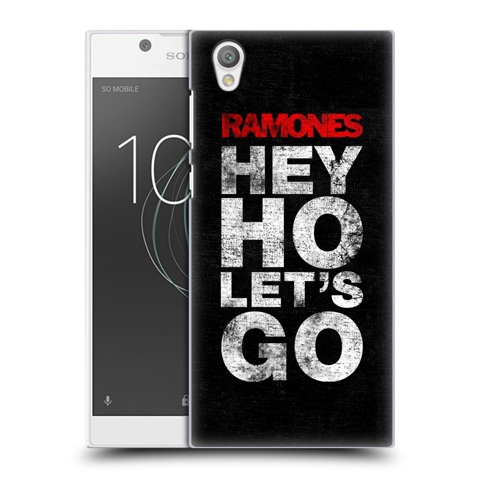 Plastové pouzdro na mobil Sony Xperia L1 - Head Case - The Ramones - HEY HO LET´S GO (Plastový kryt či obal na mobilní telefon Sony Xperia L1 G3311 s motivem The Ramones - HEY HO LET´S GO)