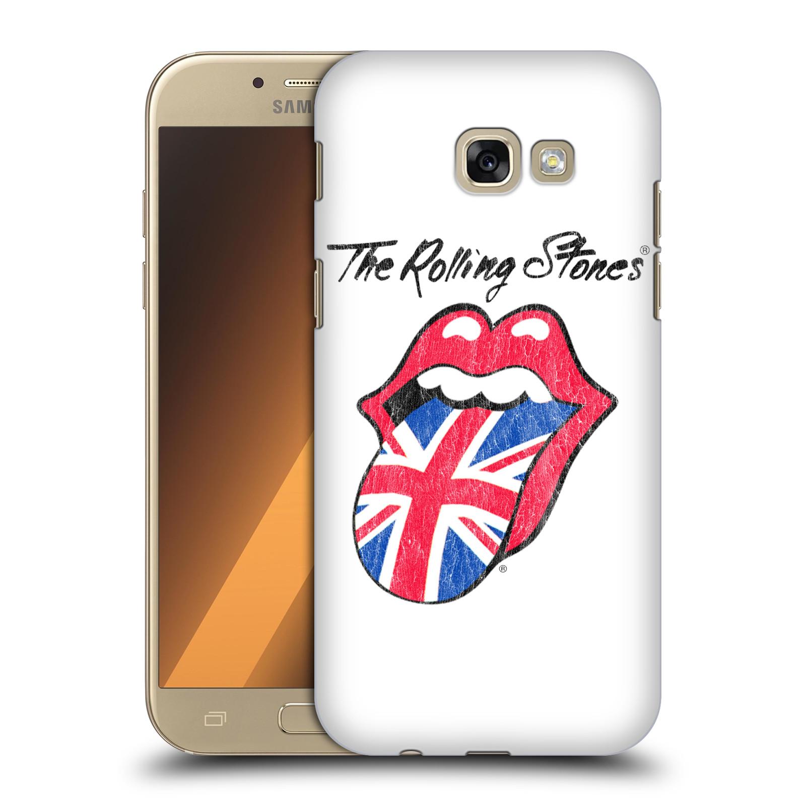 Plastové pouzdro na mobil Samsung Galaxy A5 (2017) HEAD CASE The Rolling Stones - Britský Vintage Jazýček