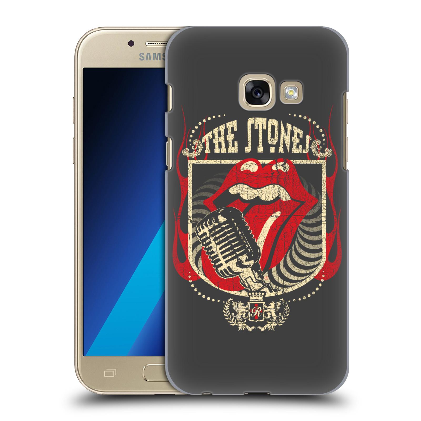 Plastové pouzdro na mobil Samsung Galaxy A3 (2017) HEAD CASE The Rolling Stones - Mikrák