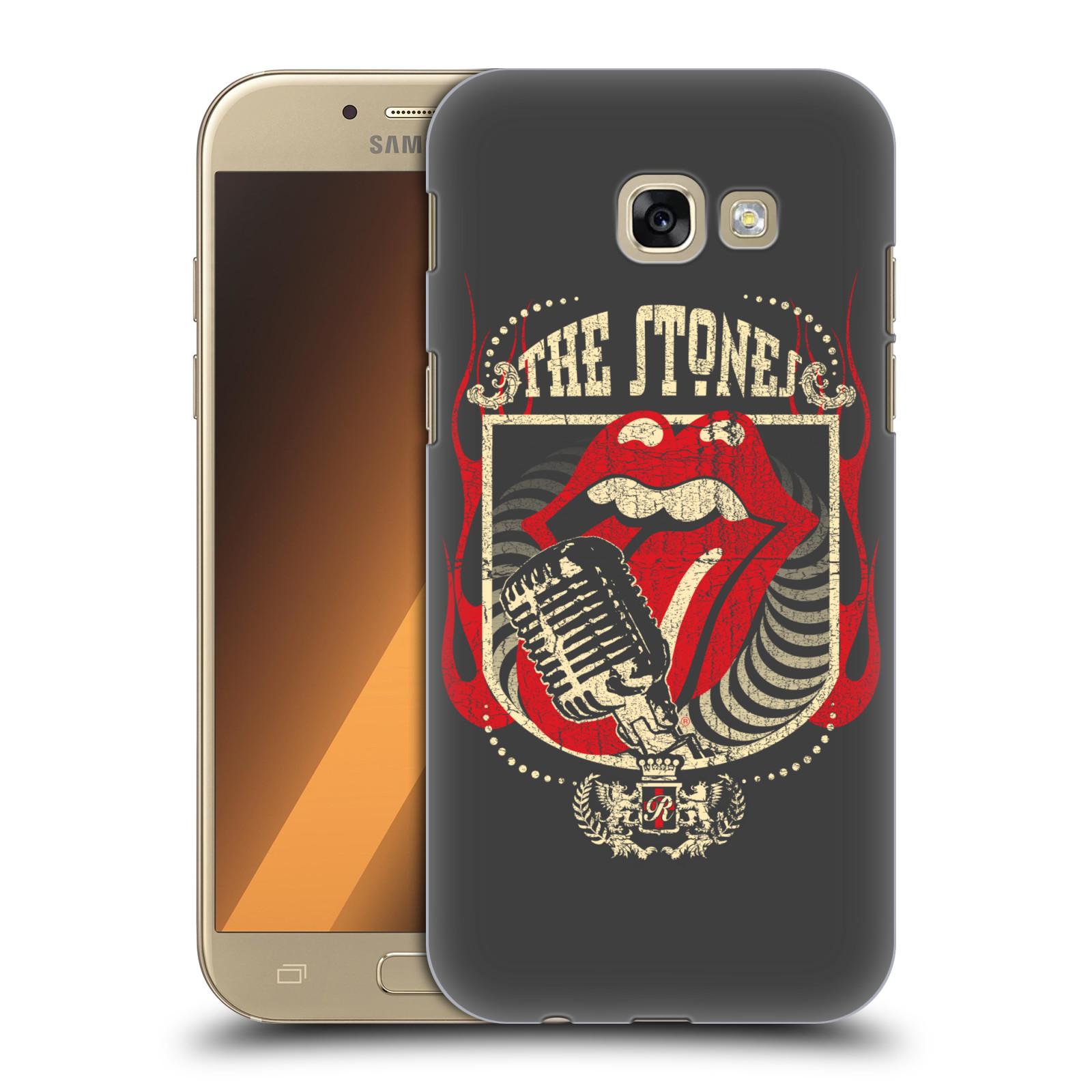 Plastové pouzdro na mobil Samsung Galaxy A5 (2017) HEAD CASE The Rolling Stones - Mikrák