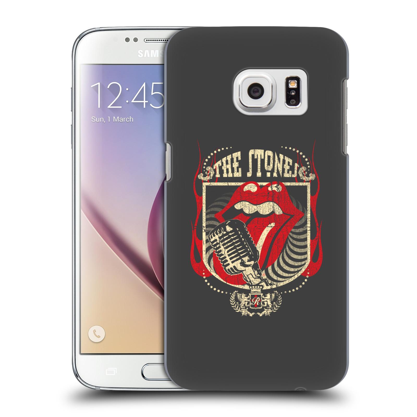 Plastové pouzdro na mobil Samsung Galaxy S7 HEAD CASE The Rolling Stones - Mikrák