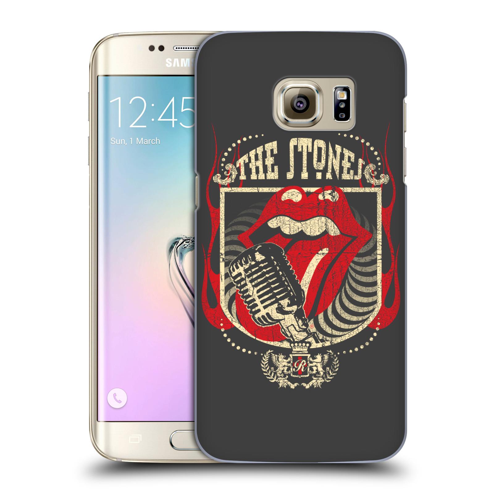 Plastové pouzdro na mobil Samsung Galaxy S7 Edge HEAD CASE The Rolling Stones - Mikrák