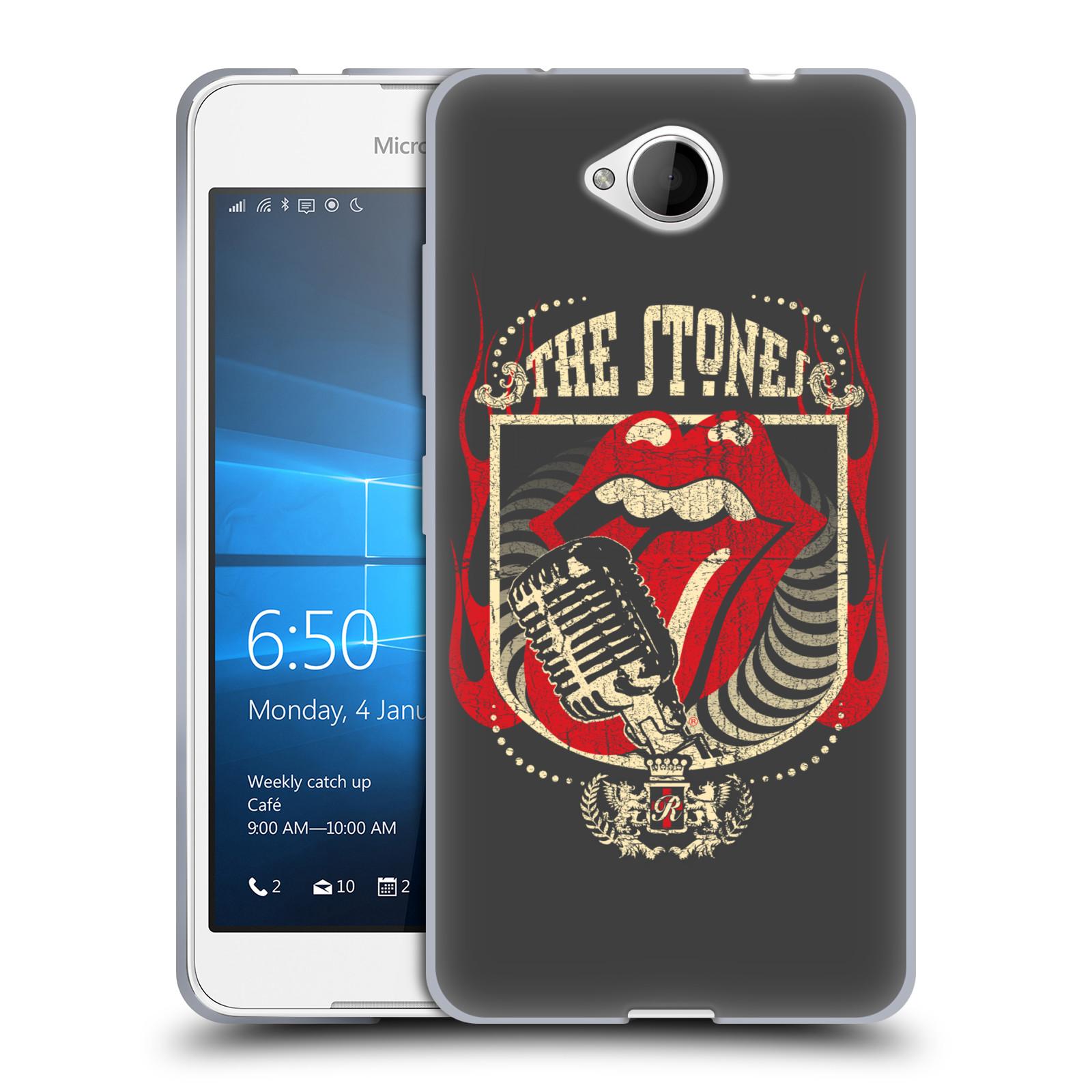 Silikonové pouzdro na mobil Microsoft Lumia 650 HEAD CASE The Rolling Stones - Mikrák (Silikonový kryt či obal The Rolling Stones Official na mobilní telefon Microsoft Lumia 650)