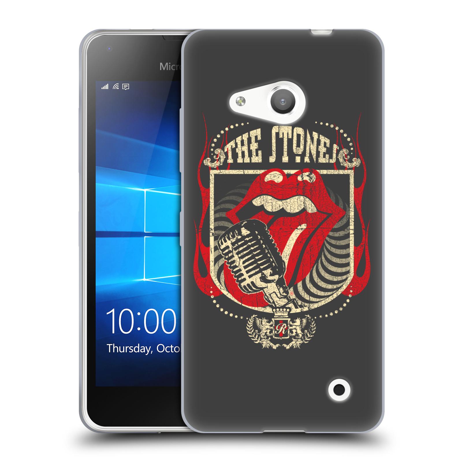 Silikonové pouzdro na mobil Microsoft Lumia 550 HEAD CASE The Rolling Stones - Mikrák (Silikonový kryt či obal The Rolling Stones Official na mobilní telefon Microsoft Lumia 550)