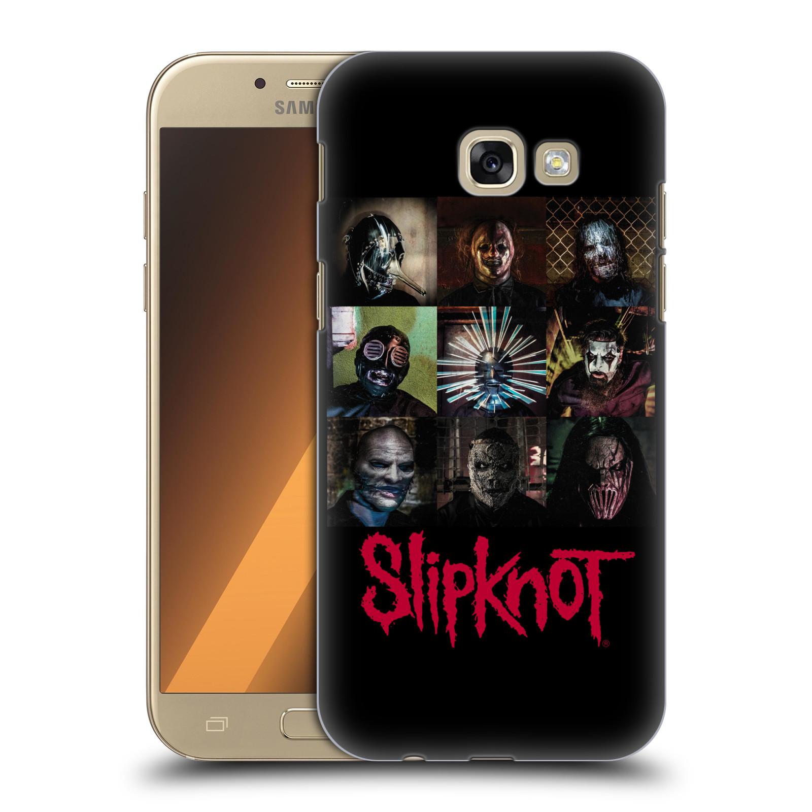 Plastové pouzdro na mobil Samsung Galaxy A5 (2017) HEAD CASE Slipknot - Bloky