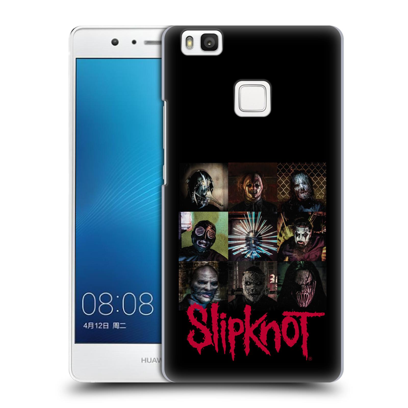 Plastové pouzdro na mobil Huawei P9 Lite HEAD CASE Slipknot - Bloky
