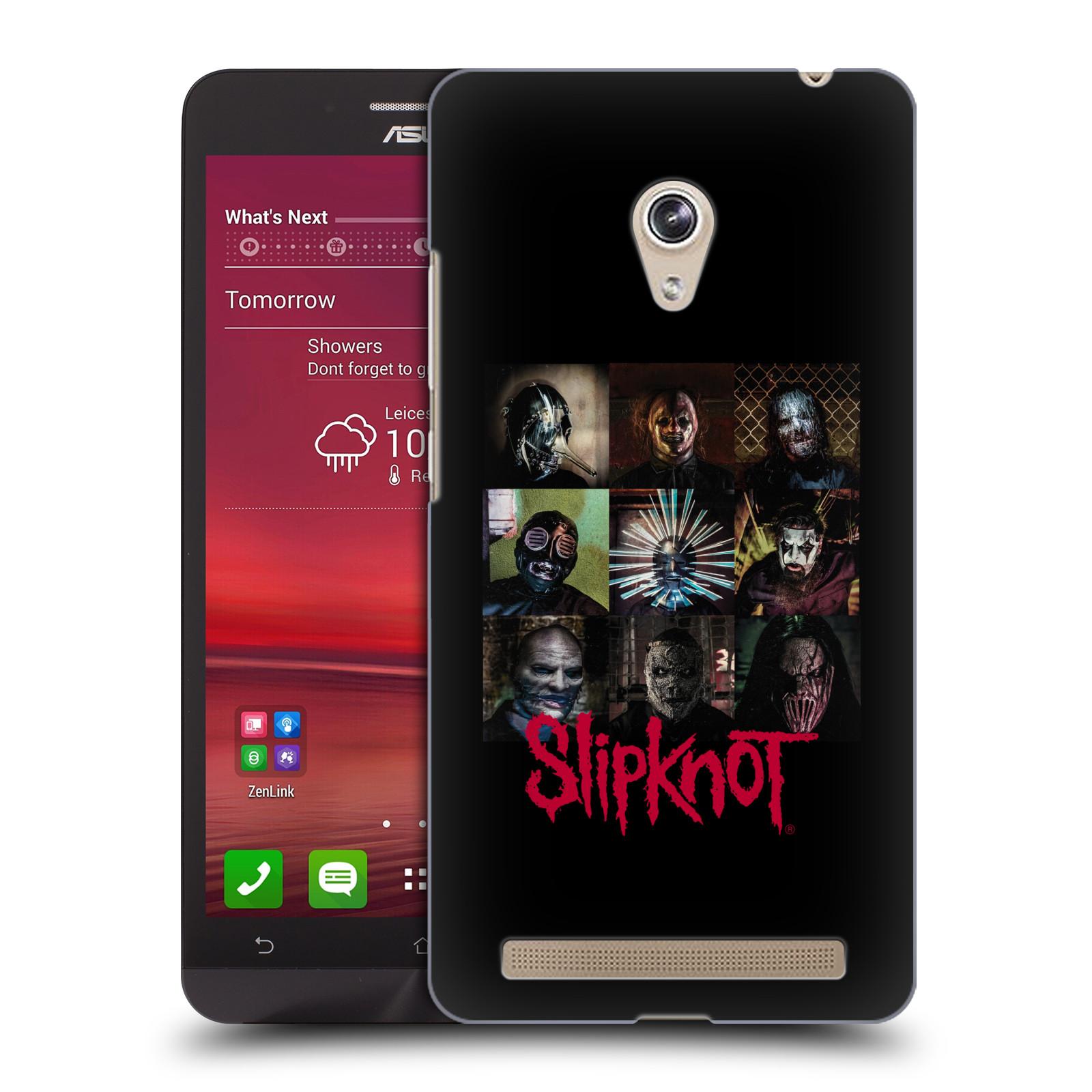 Plastové pouzdro na mobil Asus Zenfone 6 HEAD CASE Slipknot - Bloky (Plastový kryt či obal na mobilní telefon licencovaným motivem Slipknot pro Asus Zenfone 6 A600CG / A601CG)