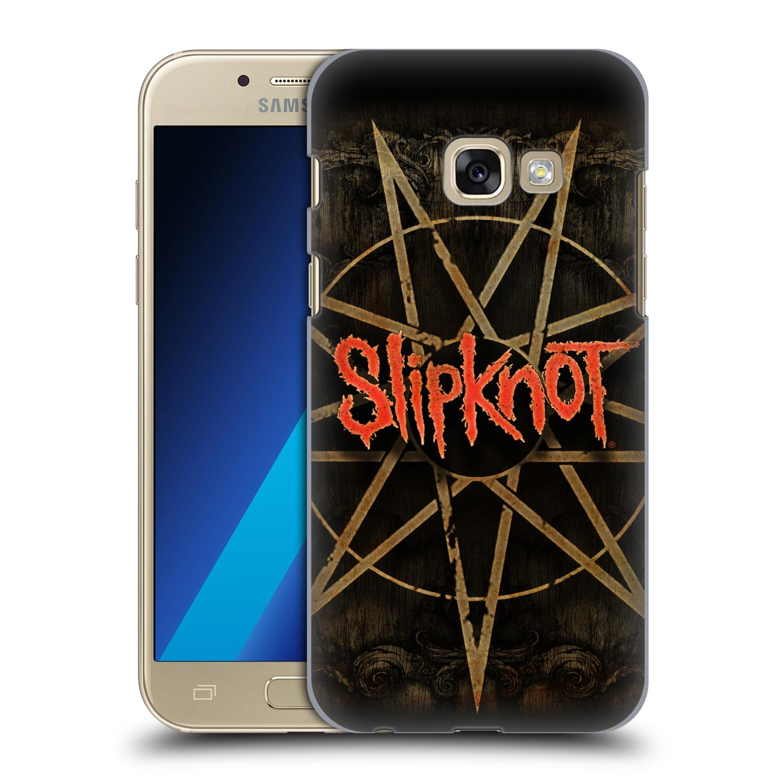 Plastové pouzdro na mobil Samsung Galaxy A3 (2017) HEAD CASE Slipknot - Znak