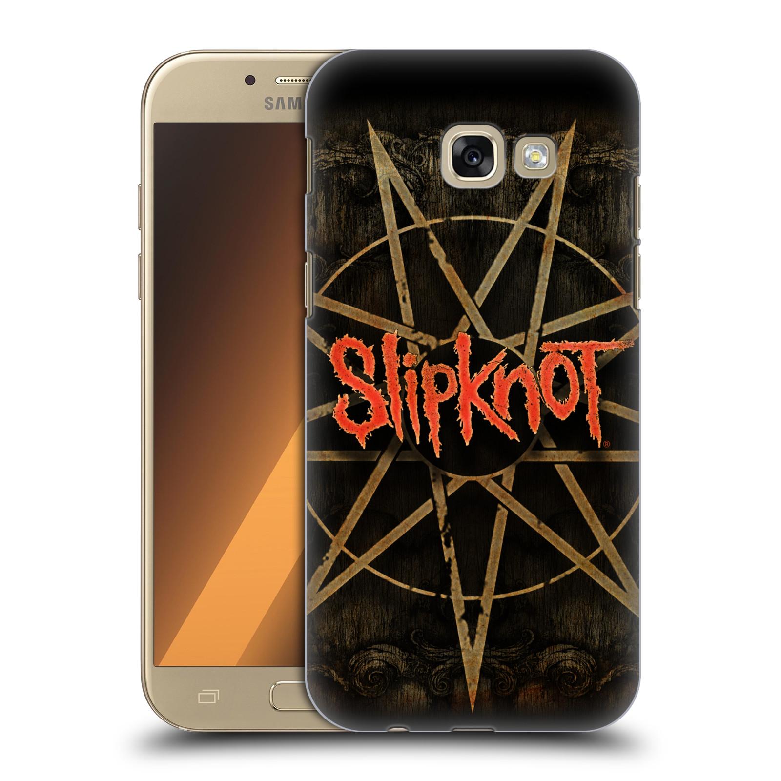 Plastové pouzdro na mobil Samsung Galaxy A5 (2017) HEAD CASE Slipknot - Znak