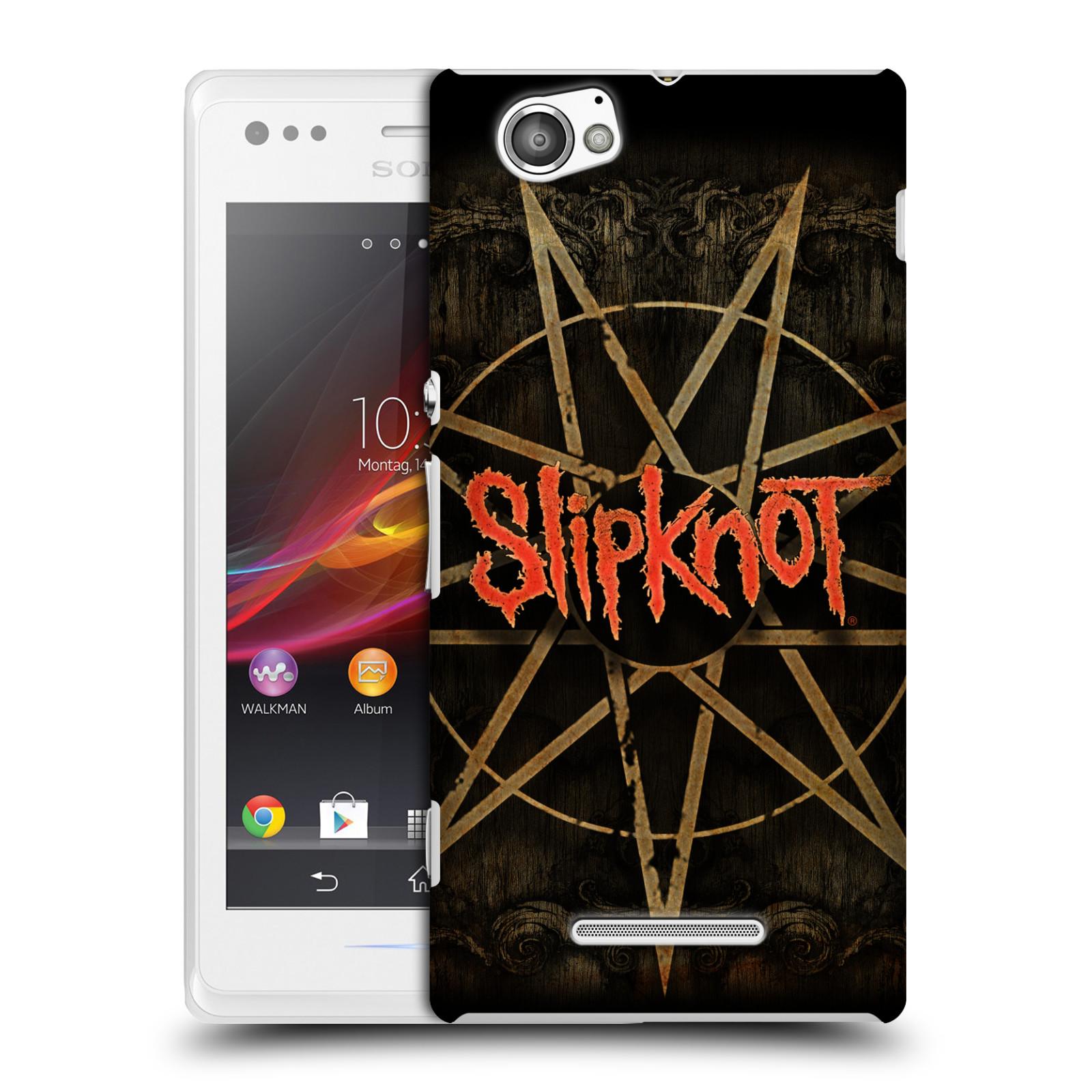 Plastové pouzdro na mobil Sony Xperia M C1905 HEAD CASE Slipknot - Znak