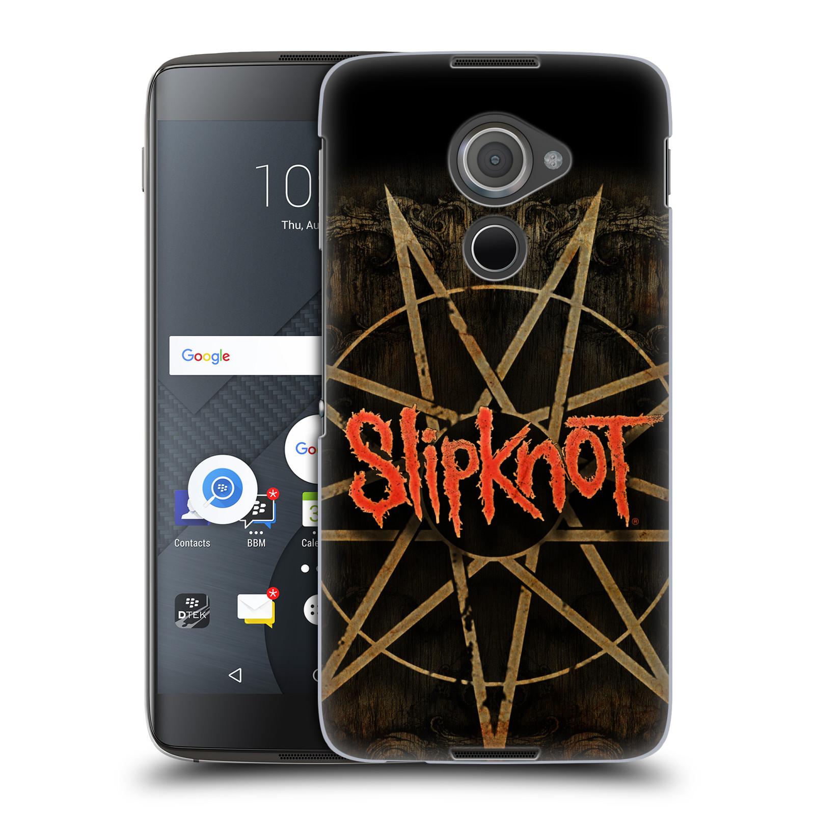 Plastové pouzdro na mobil Blackberry DTEK60 (Argon) - Head Case Slipknot - Znak