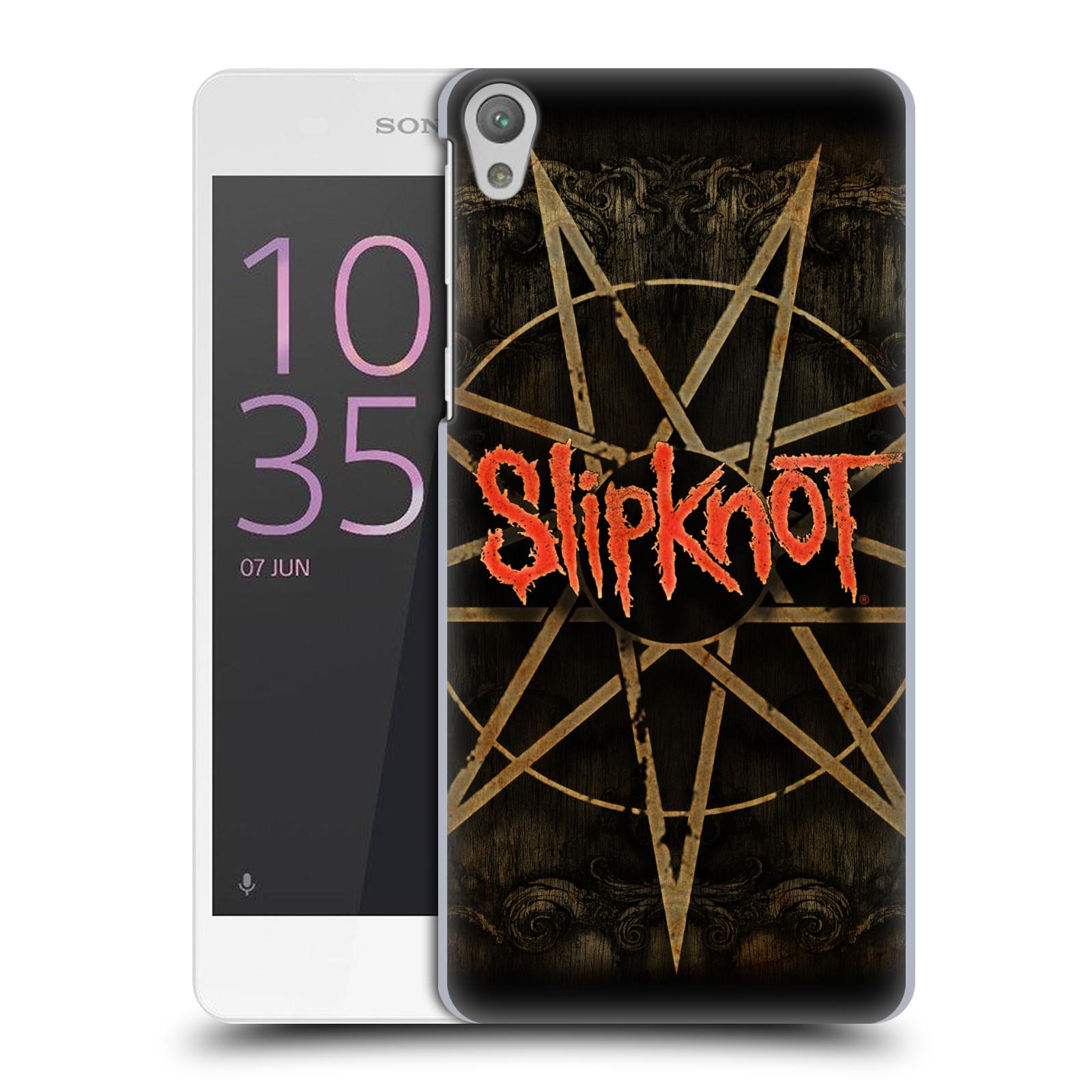 Plastové pouzdro na mobil Sony Xperia E5 HEAD CASE Slipknot - Znak