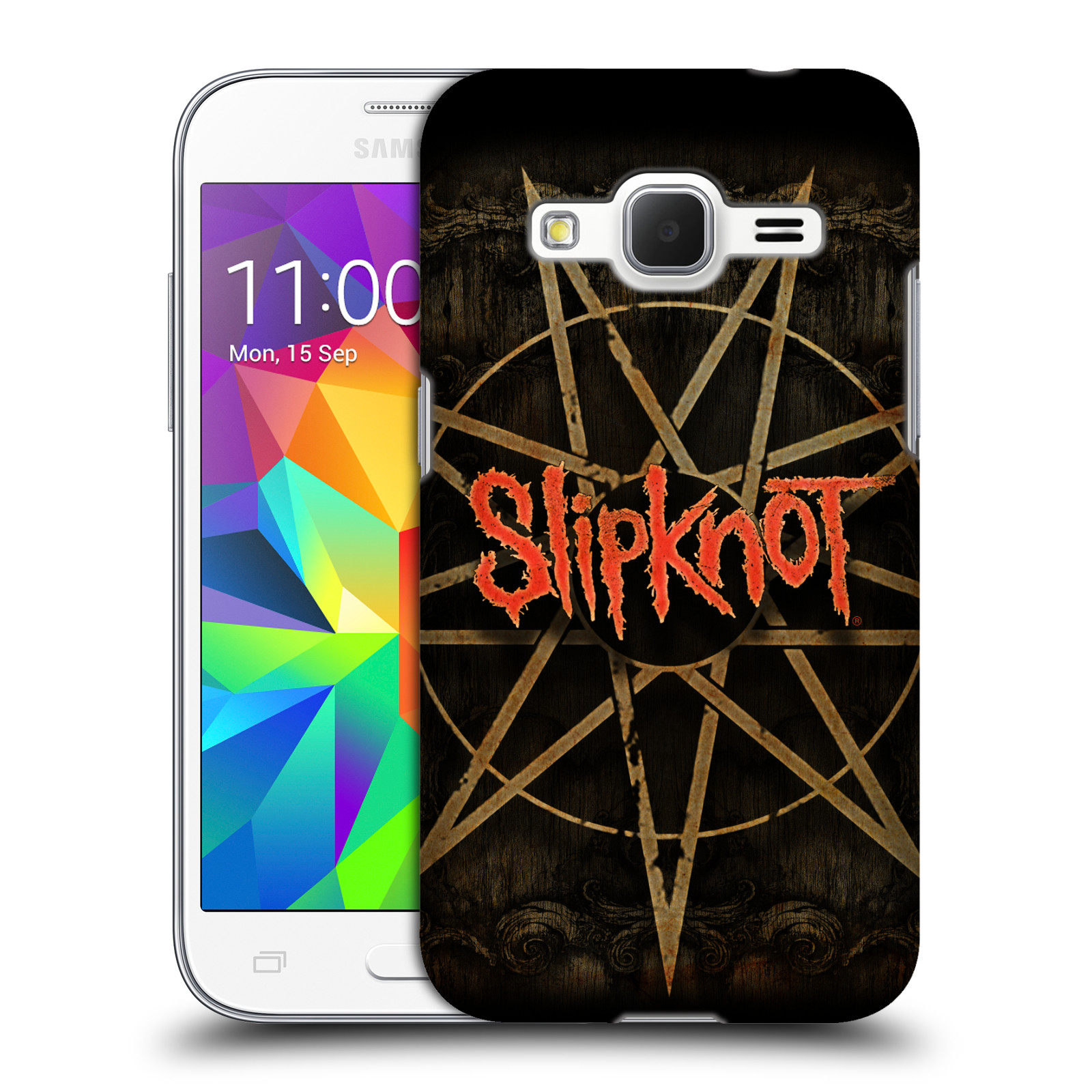 Plastové pouzdro na mobil Samsung Galaxy Core Prime VE HEAD CASE Slipknot - Znak