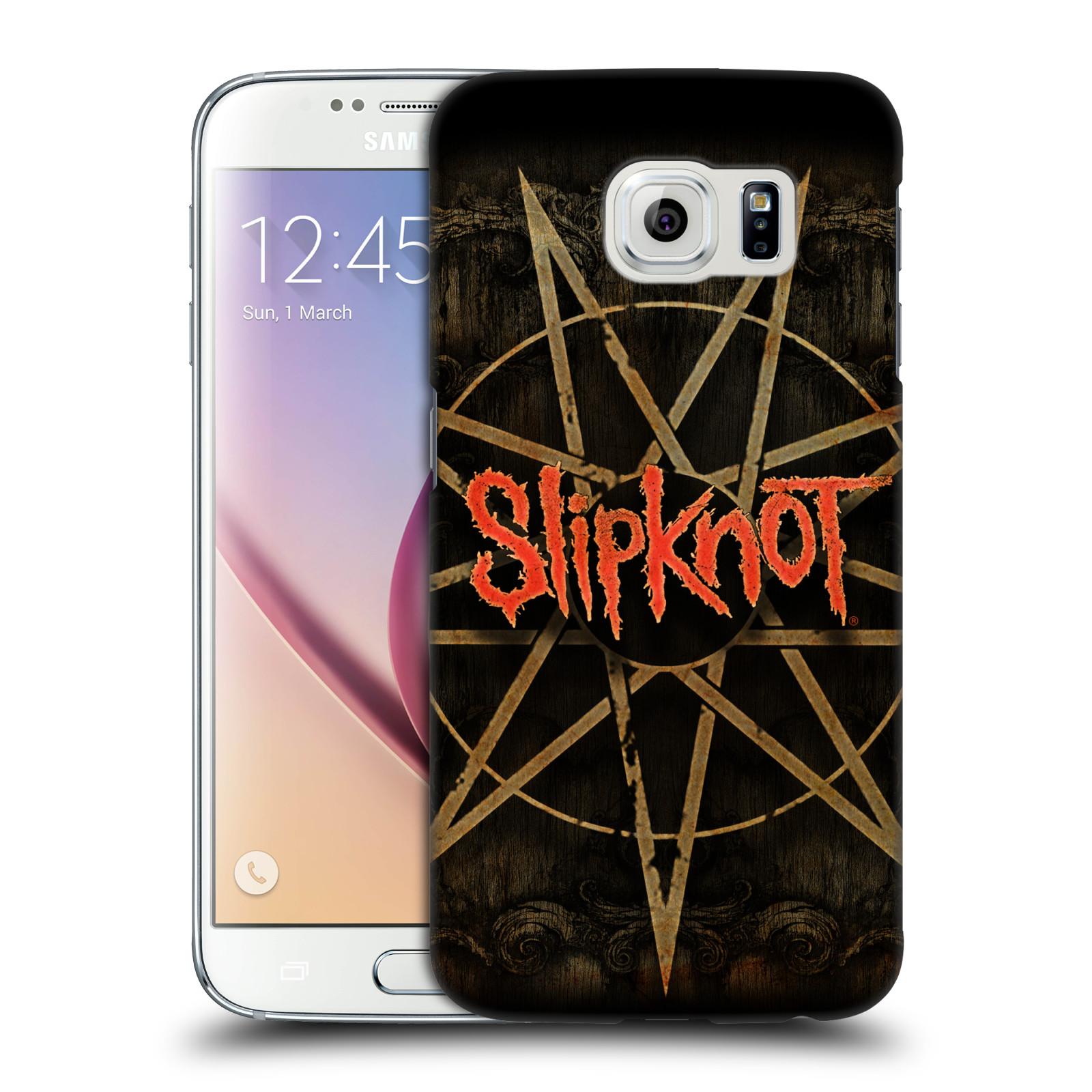 Plastové pouzdro na mobil Samsung Galaxy S6 HEAD CASE Slipknot - Znak
