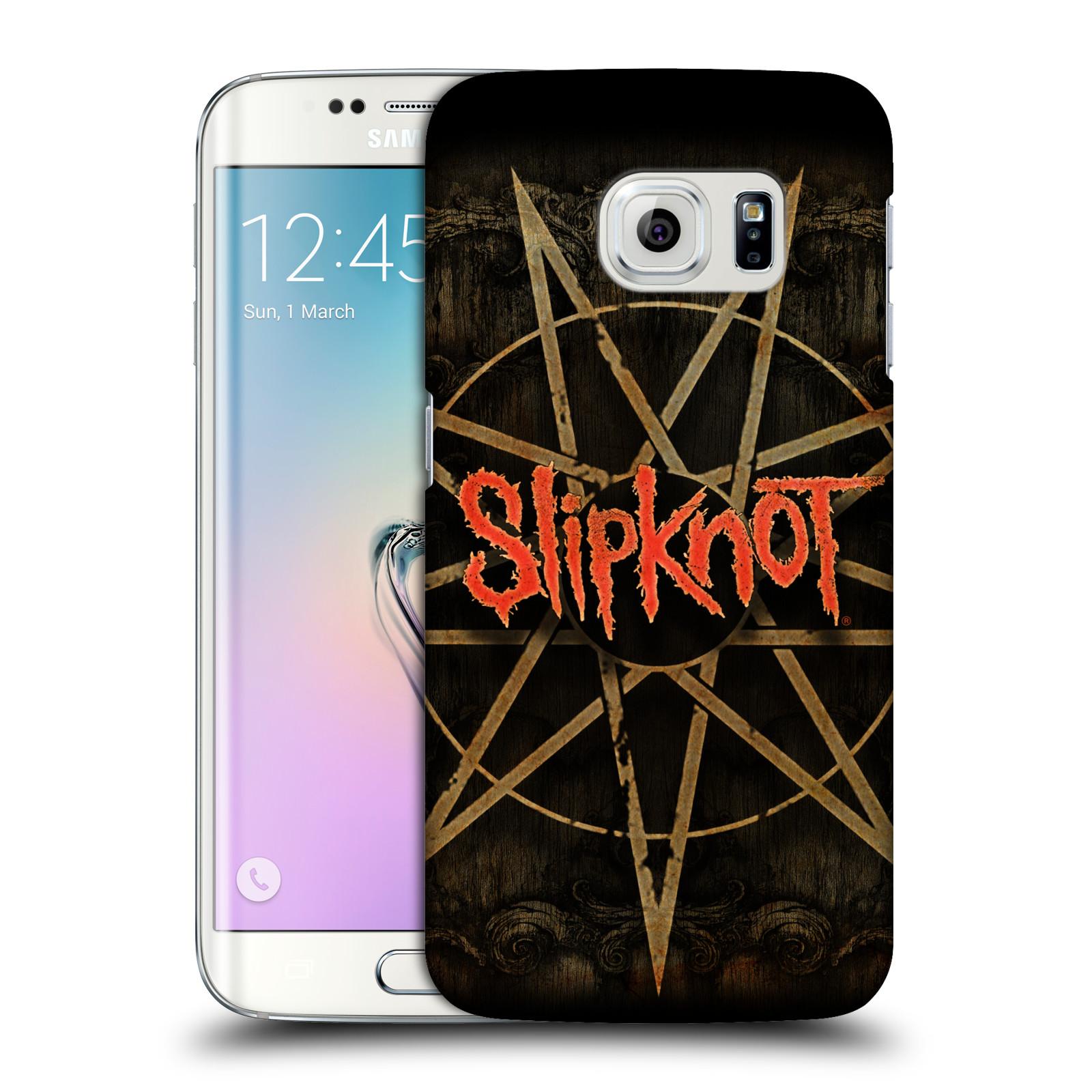 Plastové pouzdro na mobil Samsung Galaxy S6 Edge HEAD CASE Slipknot - Znak