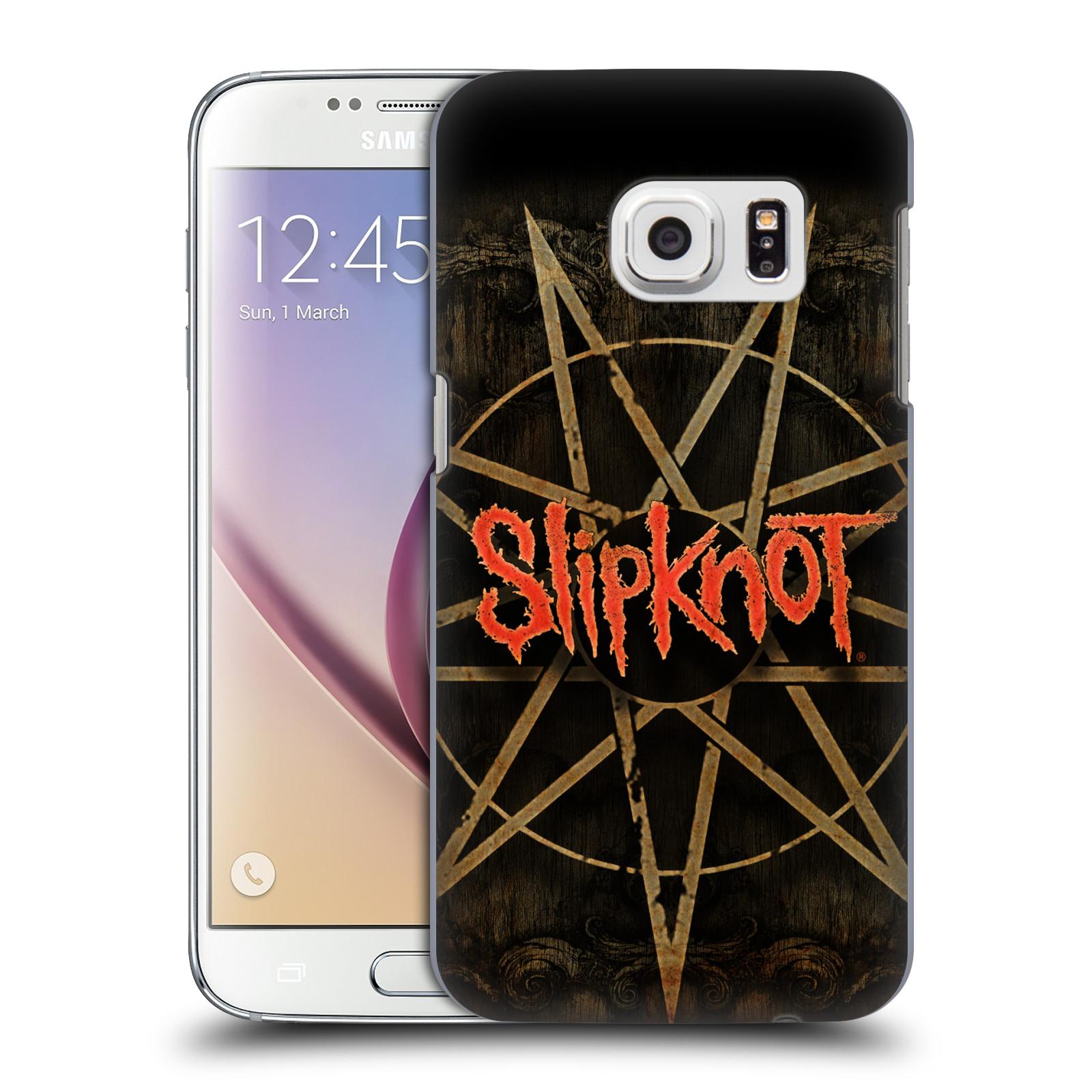 Plastové pouzdro na mobil Samsung Galaxy S7 HEAD CASE Slipknot - Znak (Plastový kryt či obal na mobilní telefon licencovaným motivem Slipknot pro Samsung Galaxy S7 SM-G930F)