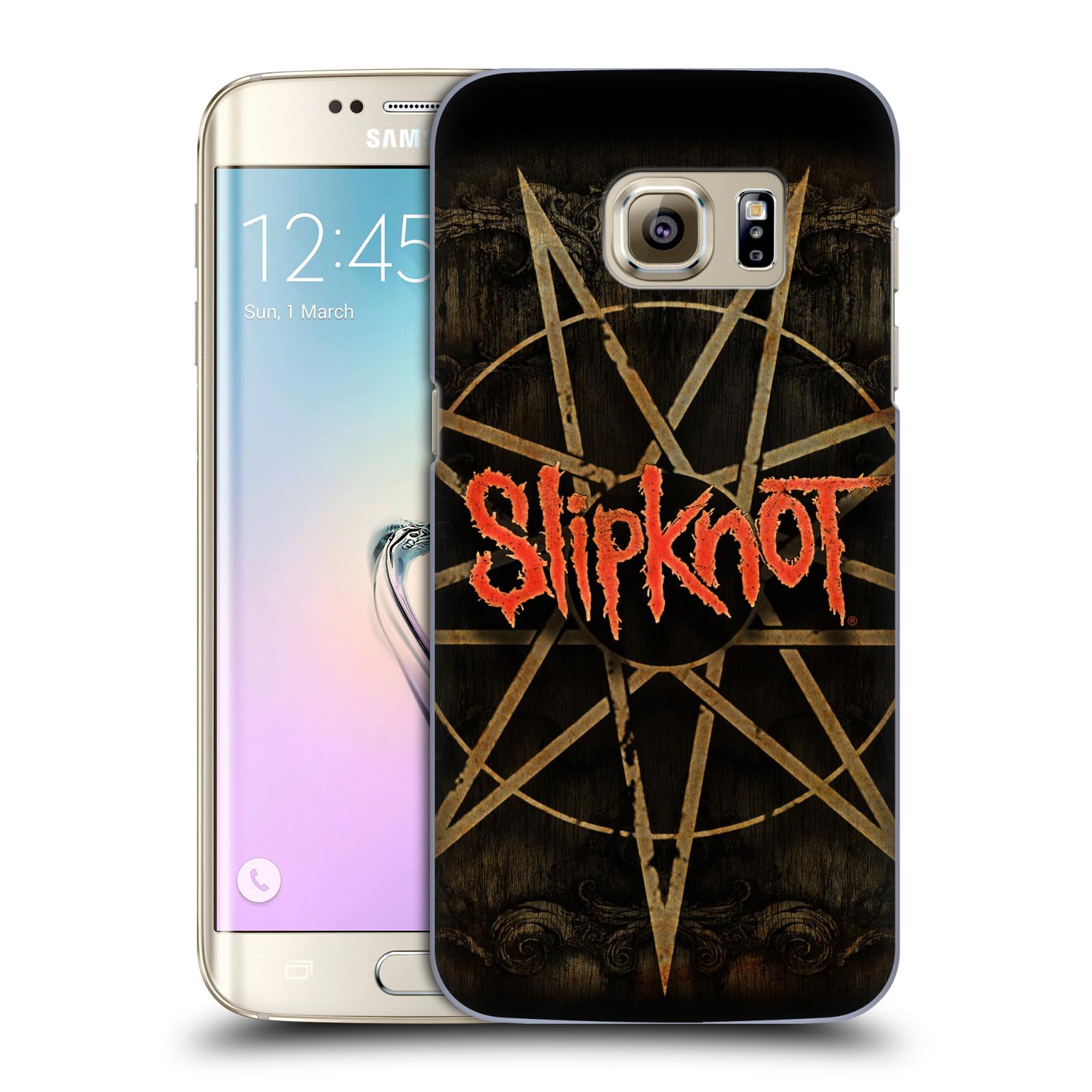 Plastové pouzdro na mobil Samsung Galaxy S7 Edge HEAD CASE Slipknot - Znak