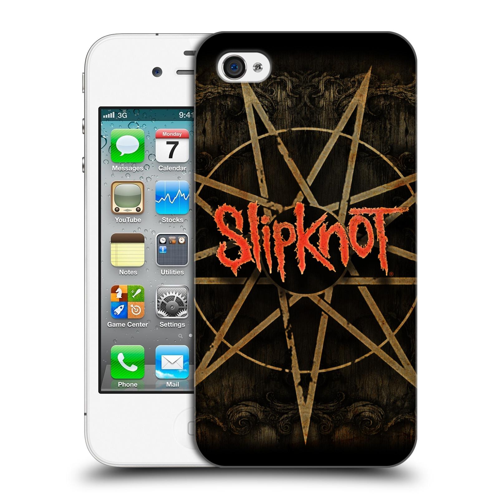 Plastové pouzdro na mobil Apple iPhone 4 a 4S HEAD CASE Slipknot - Znak