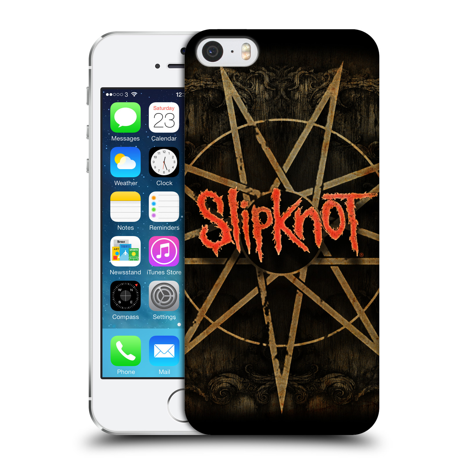 Plastové pouzdro na mobil Apple iPhone SE, 5 a 5S HEAD CASE Slipknot - Znak