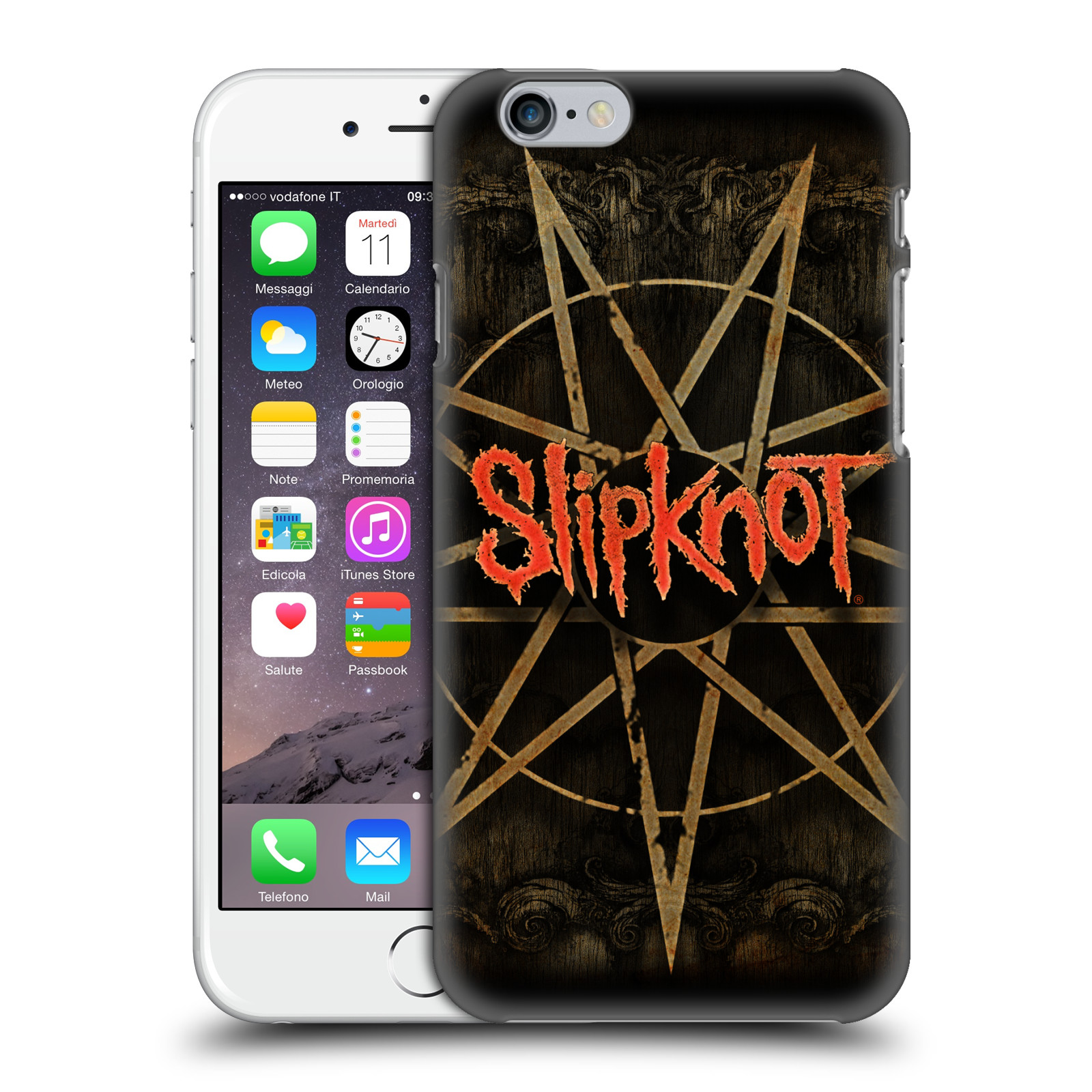 Plastové pouzdro na mobil Apple iPhone 6 HEAD CASE Slipknot - Znak