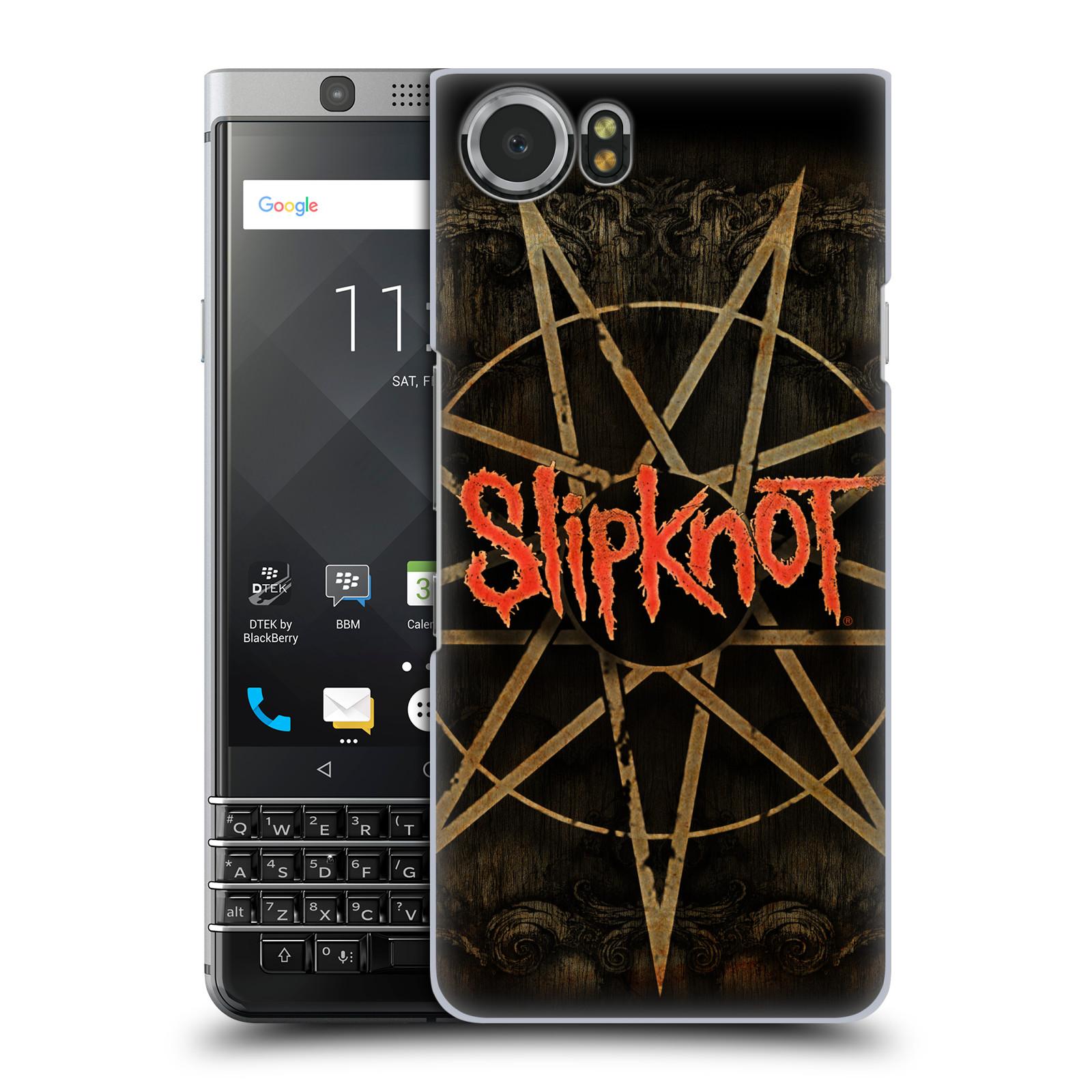 Plastové pouzdro na mobil BlackBerry KEYone - Head Case - Slipknot - Znak
