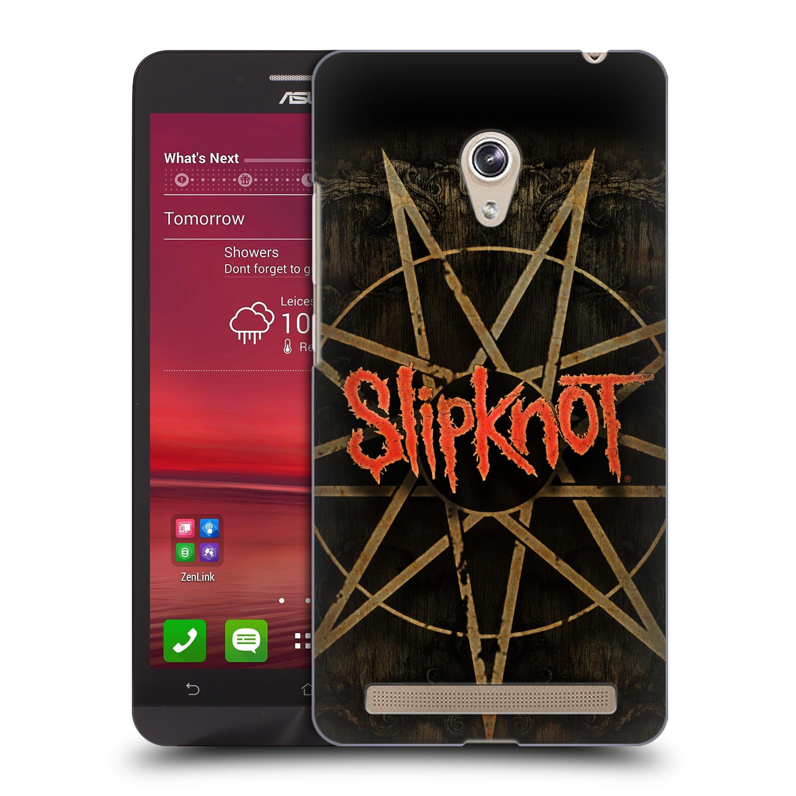 Plastové pouzdro na mobil Asus Zenfone 6 HEAD CASE Slipknot - Znak (Plastový kryt či obal na mobilní telefon licencovaným motivem Slipknot pro Asus Zenfone 6 A600CG / A601CG)