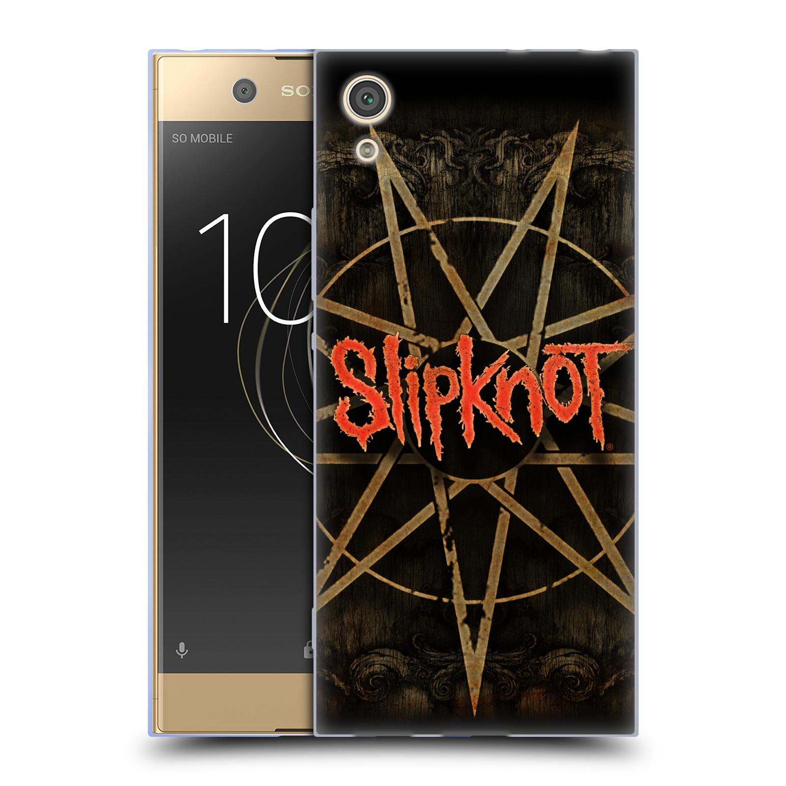Silikonové pouzdro na mobil Sony Xperia XA1 - Head Case - Slipknot - Znak