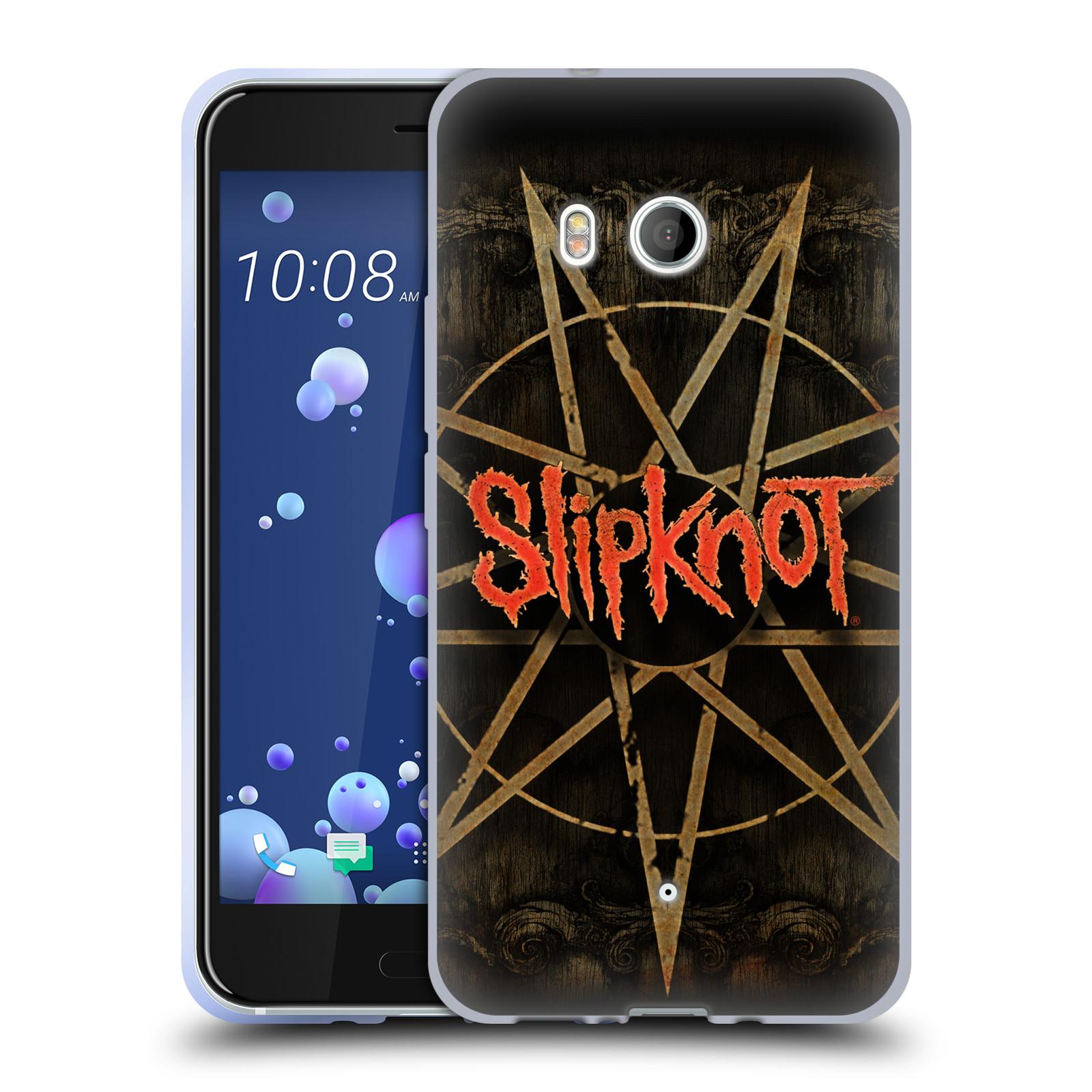 Silikonové pouzdro na mobil HTC U11 - Head Case - Slipknot - Znak