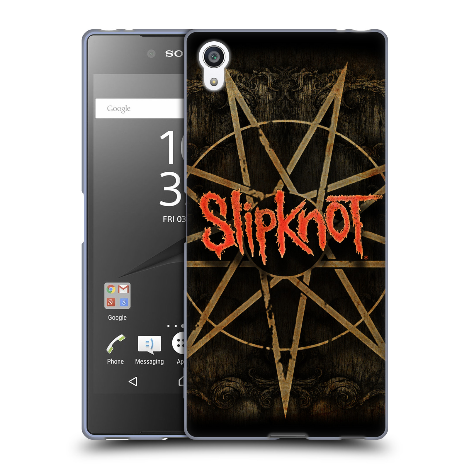Silikonové pouzdro na mobil Sony Xperia Z5 Premium HEAD CASE Slipknot - Znak