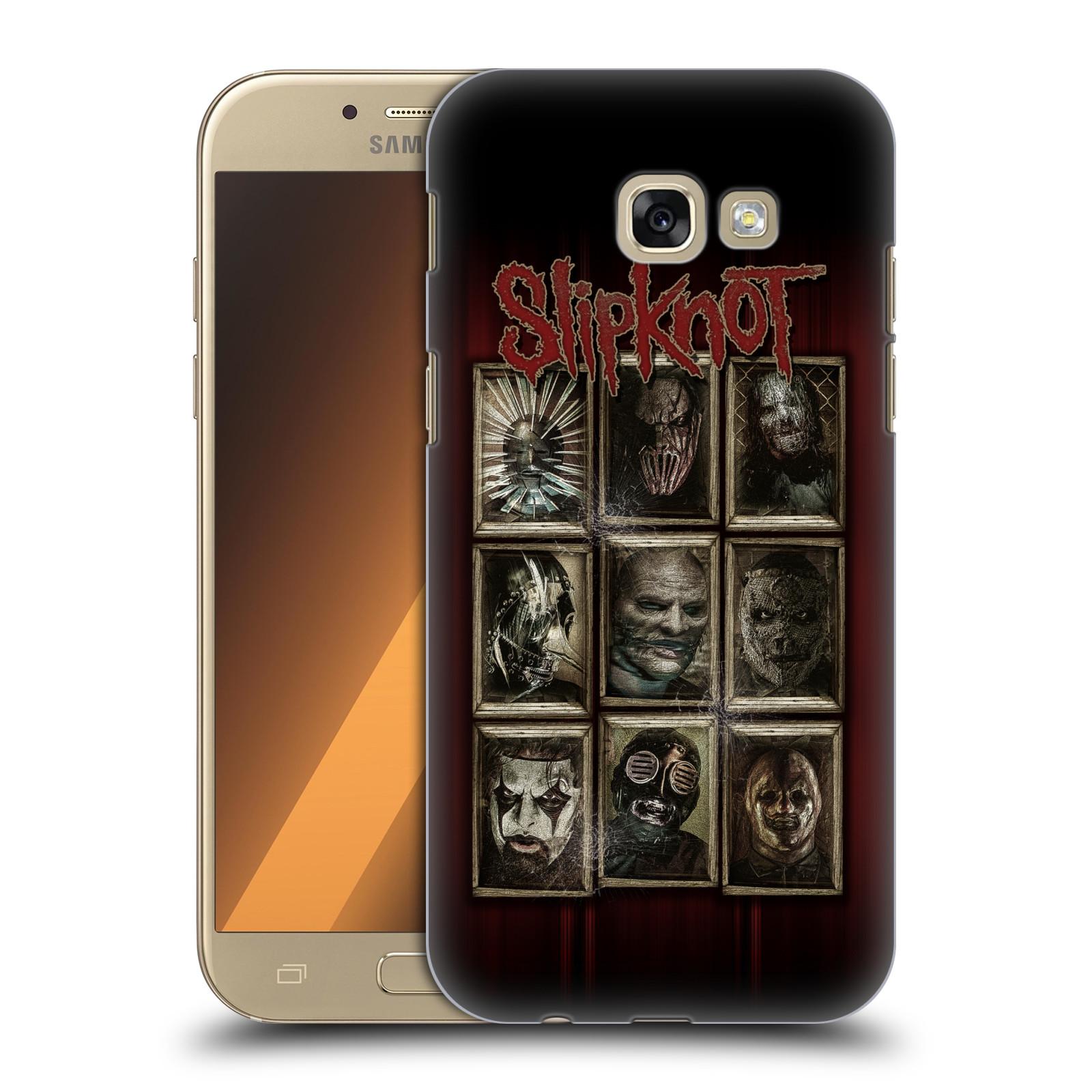 Plastové pouzdro na mobil Samsung Galaxy A5 (2017) HEAD CASE Slipknot - Masky